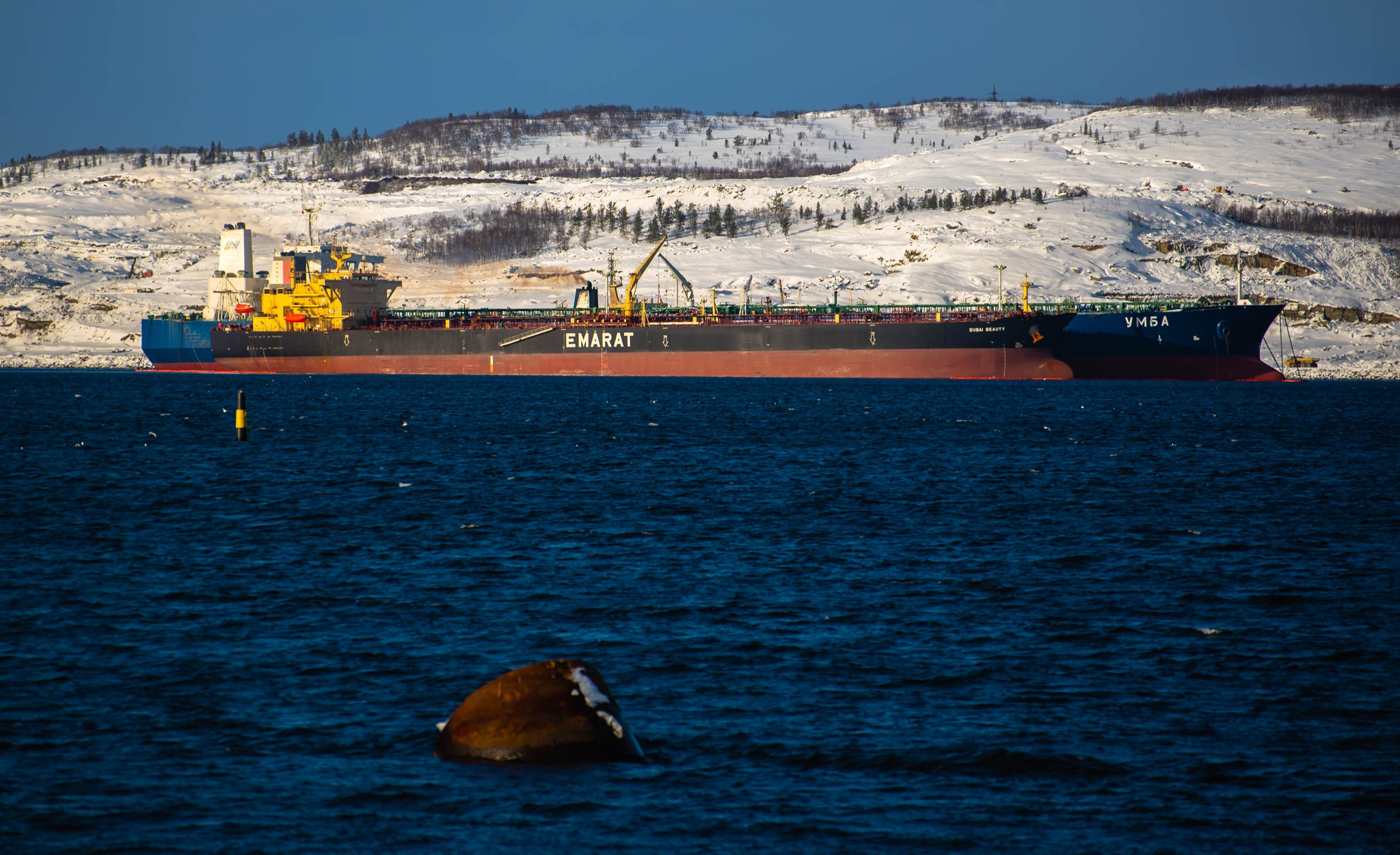 Murmansk, Kola Bay by vadsever58