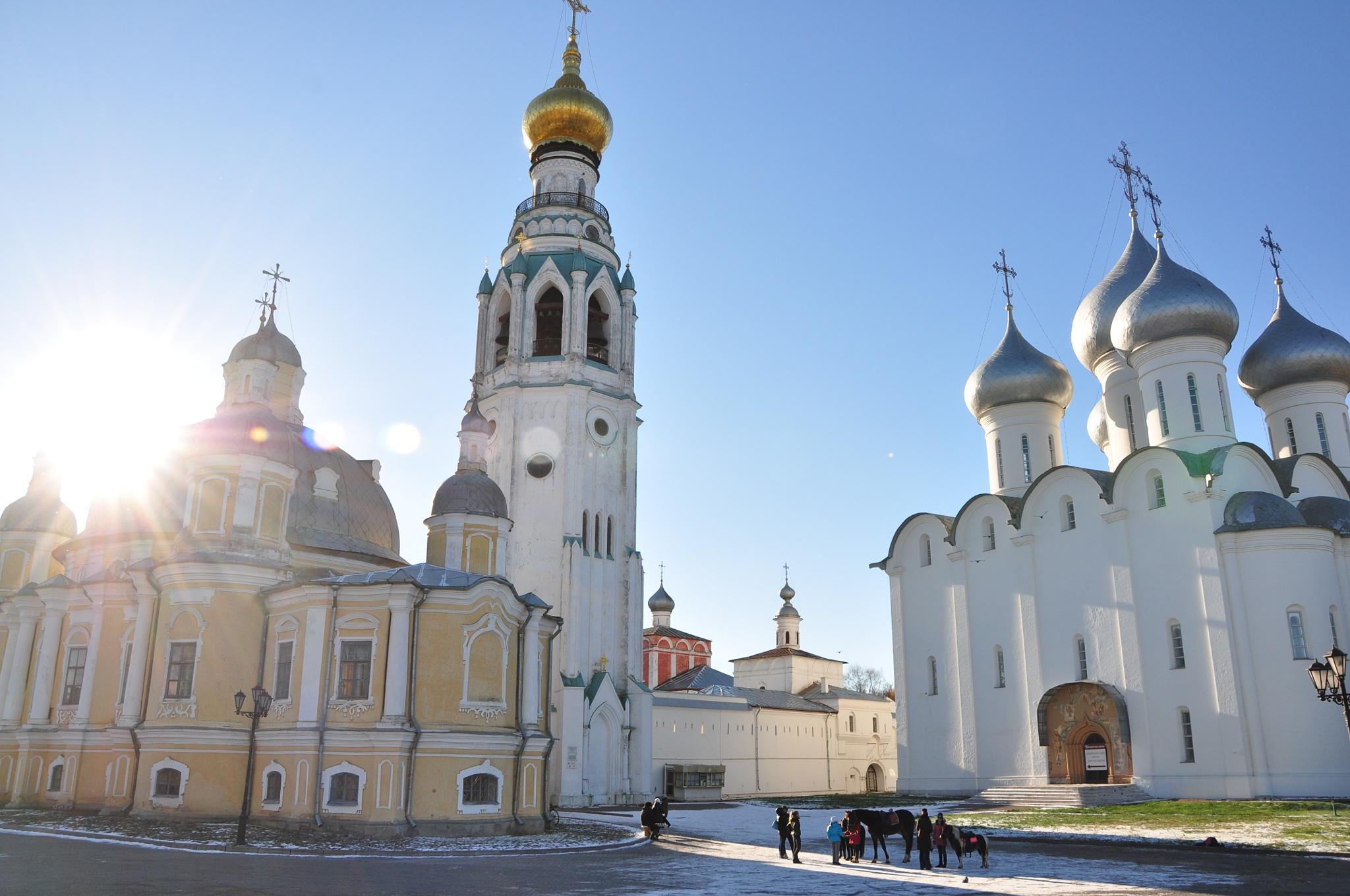 Vologda Kremlin, Russia by vadsever58