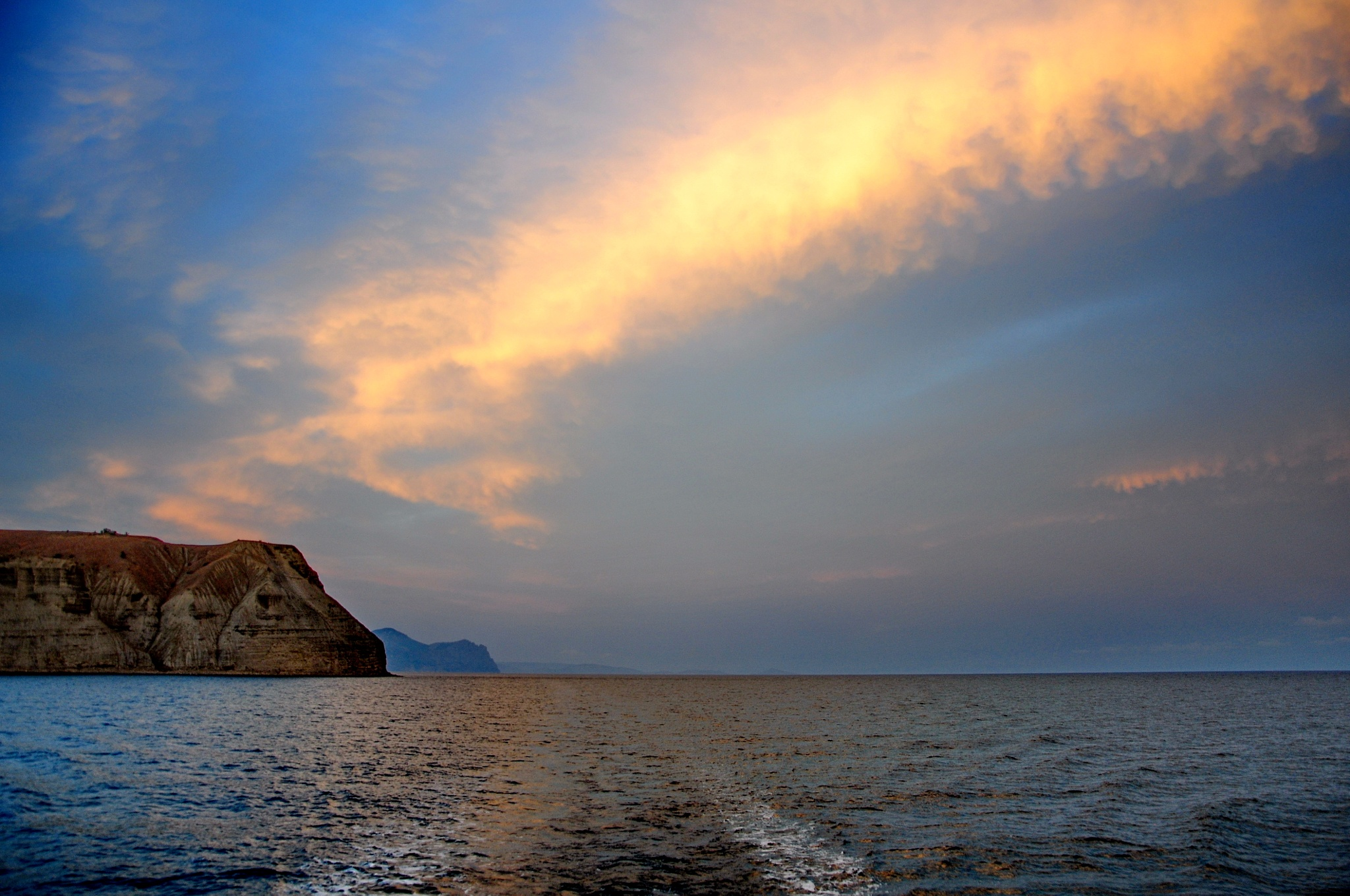 golden clouds, Crimea by vadsever58