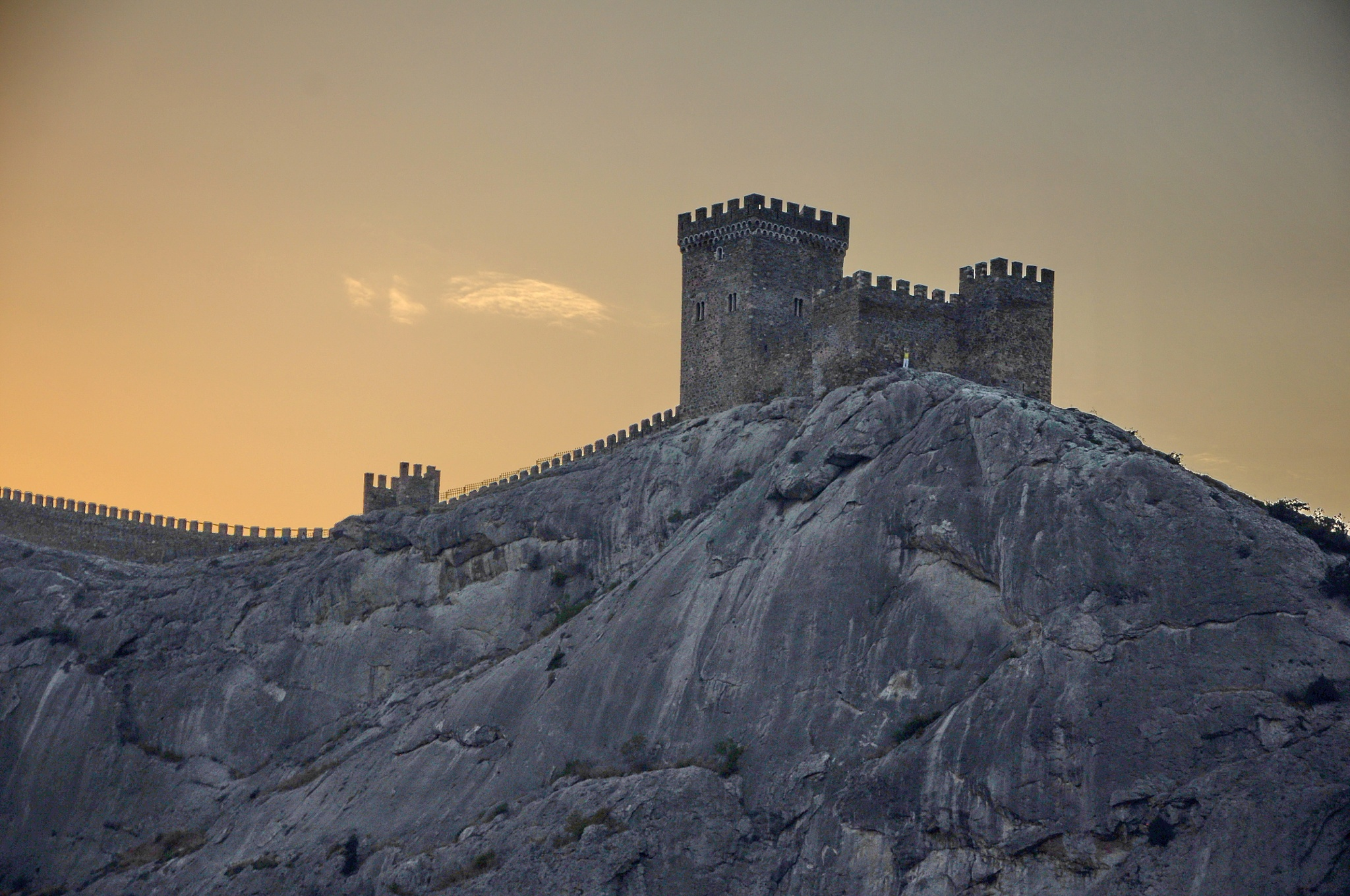 Genoese fortress, Sudak, Crimea by vadsever58