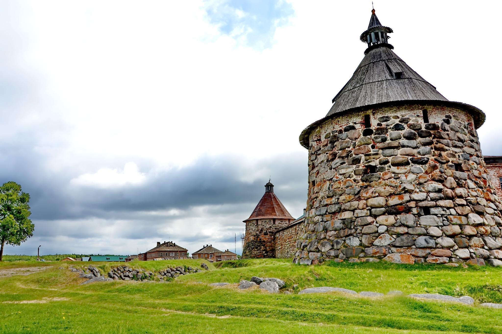 Solovetsky monastery, White Sea by vadsever58