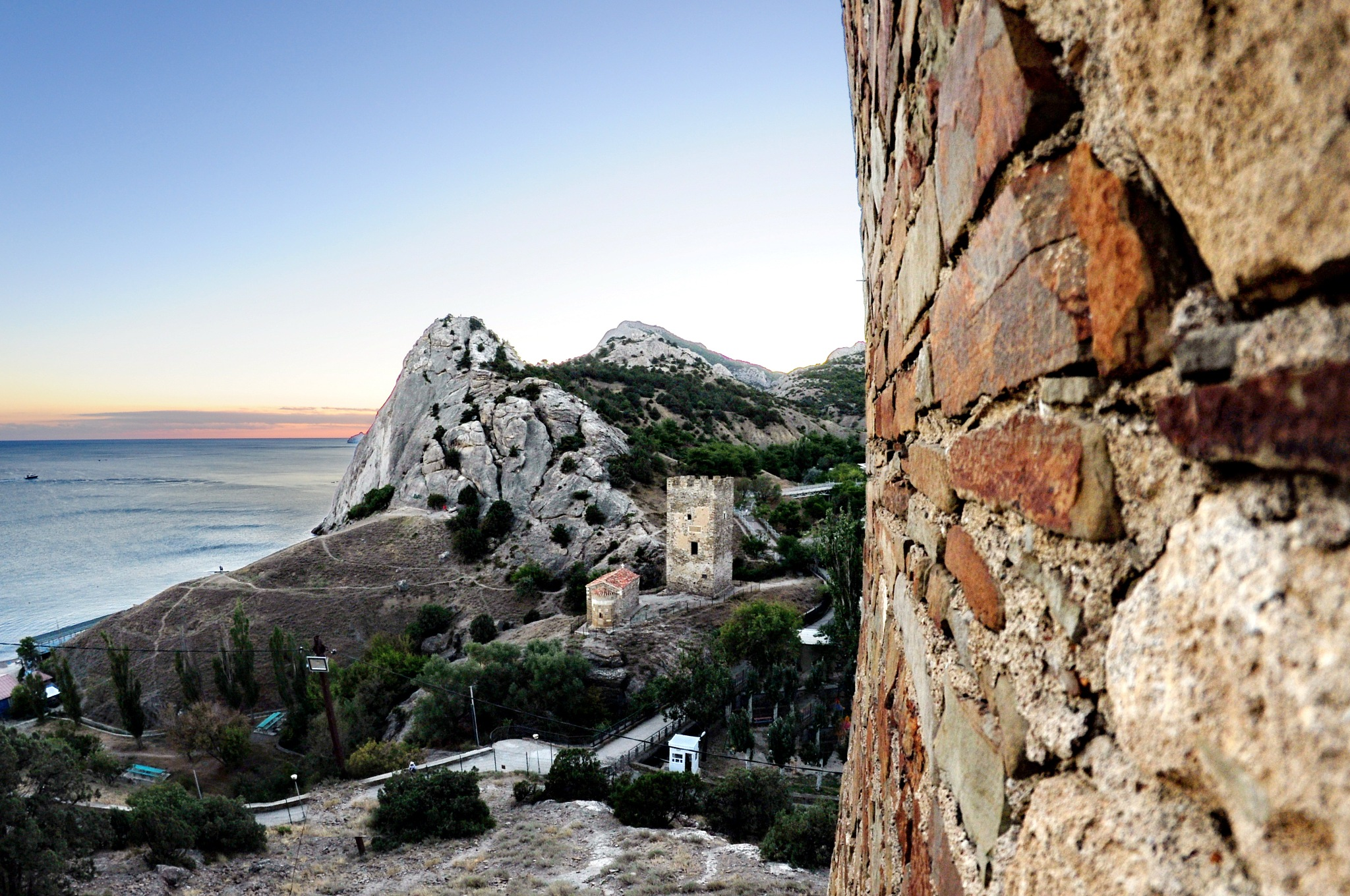 Sudak, Crimea, Genoese fortress by vadsever58