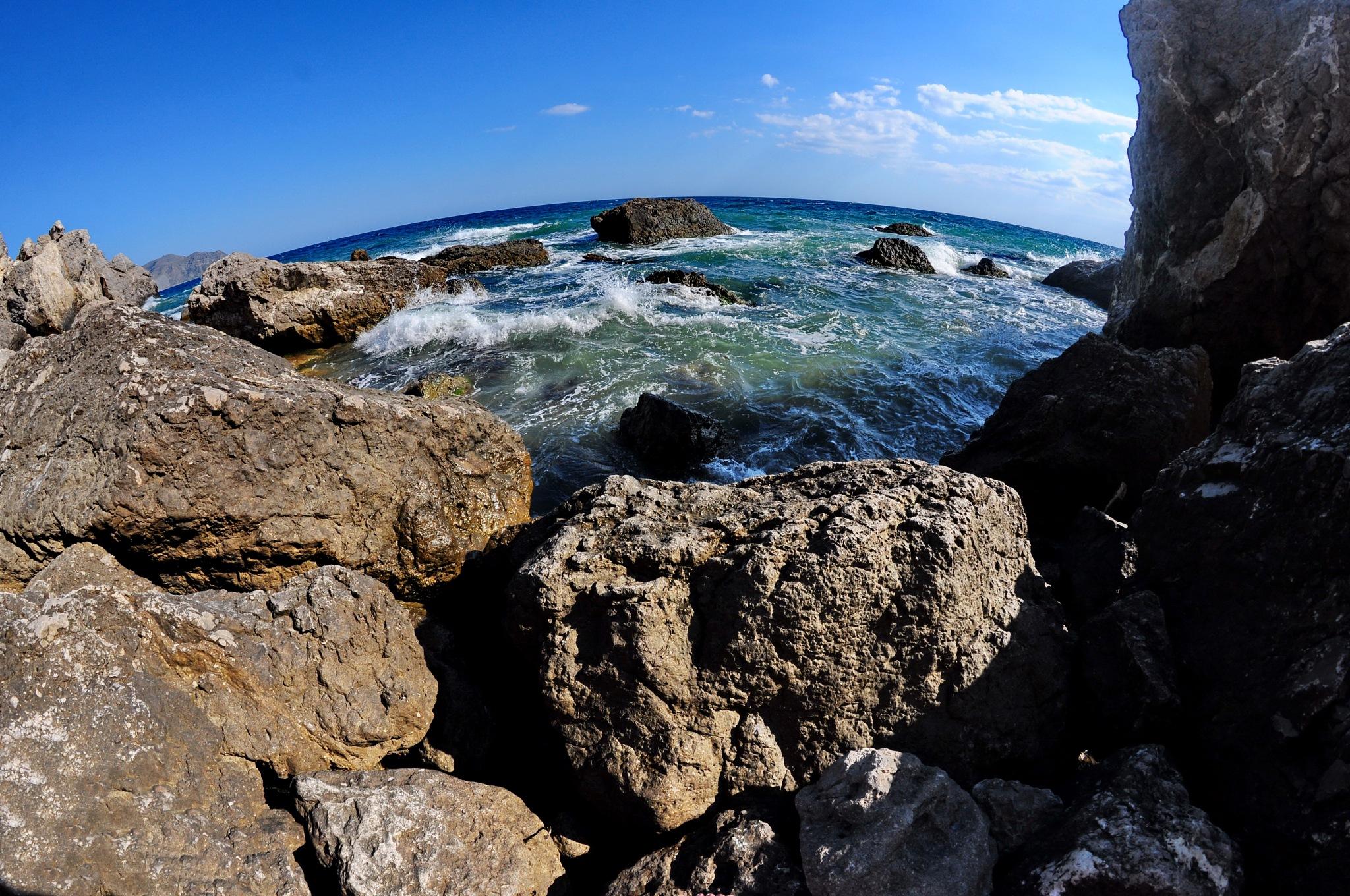 Black sea, Sudak, Crimea by vadsever58