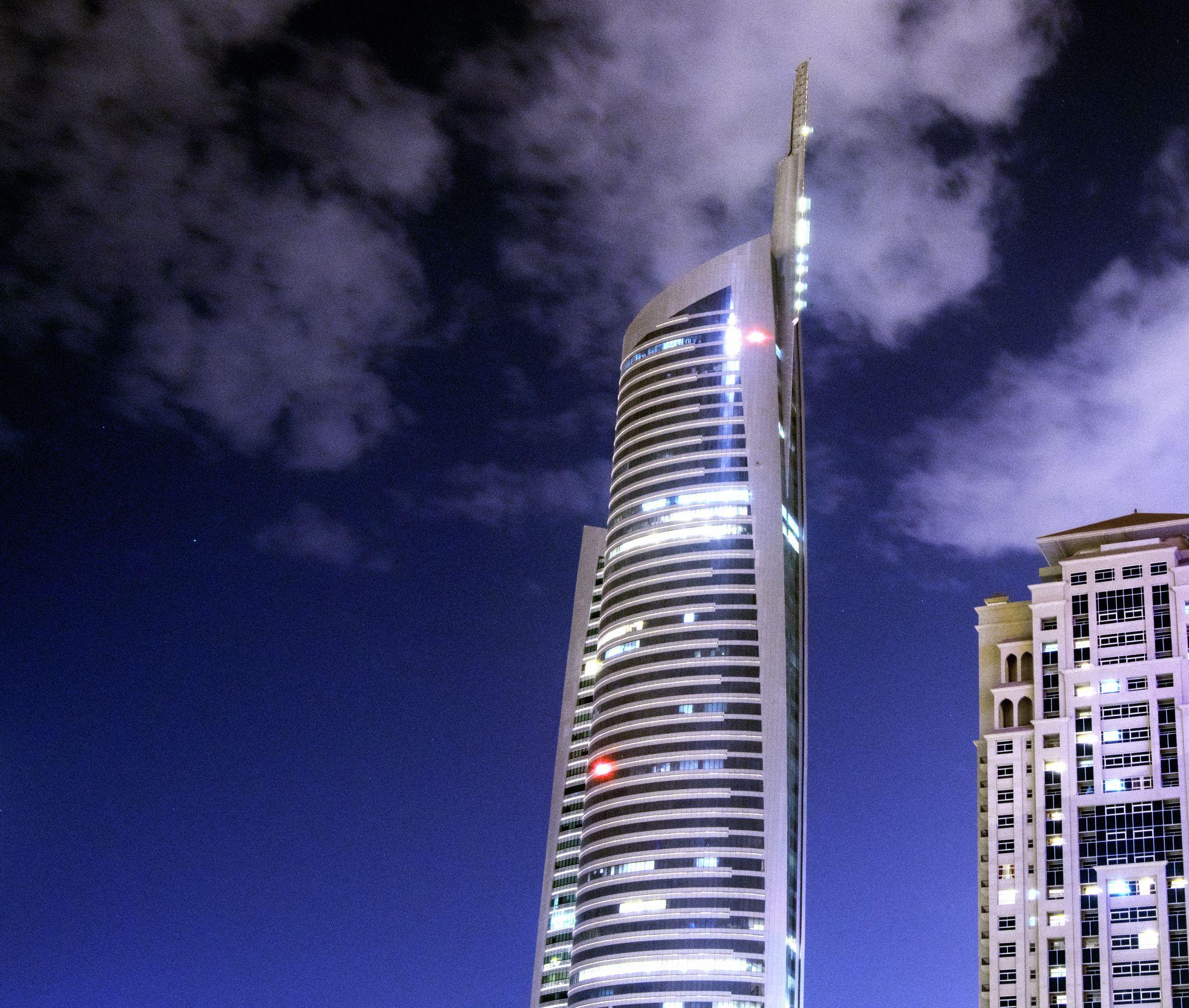 Clouds in Dubai by Seth Carter