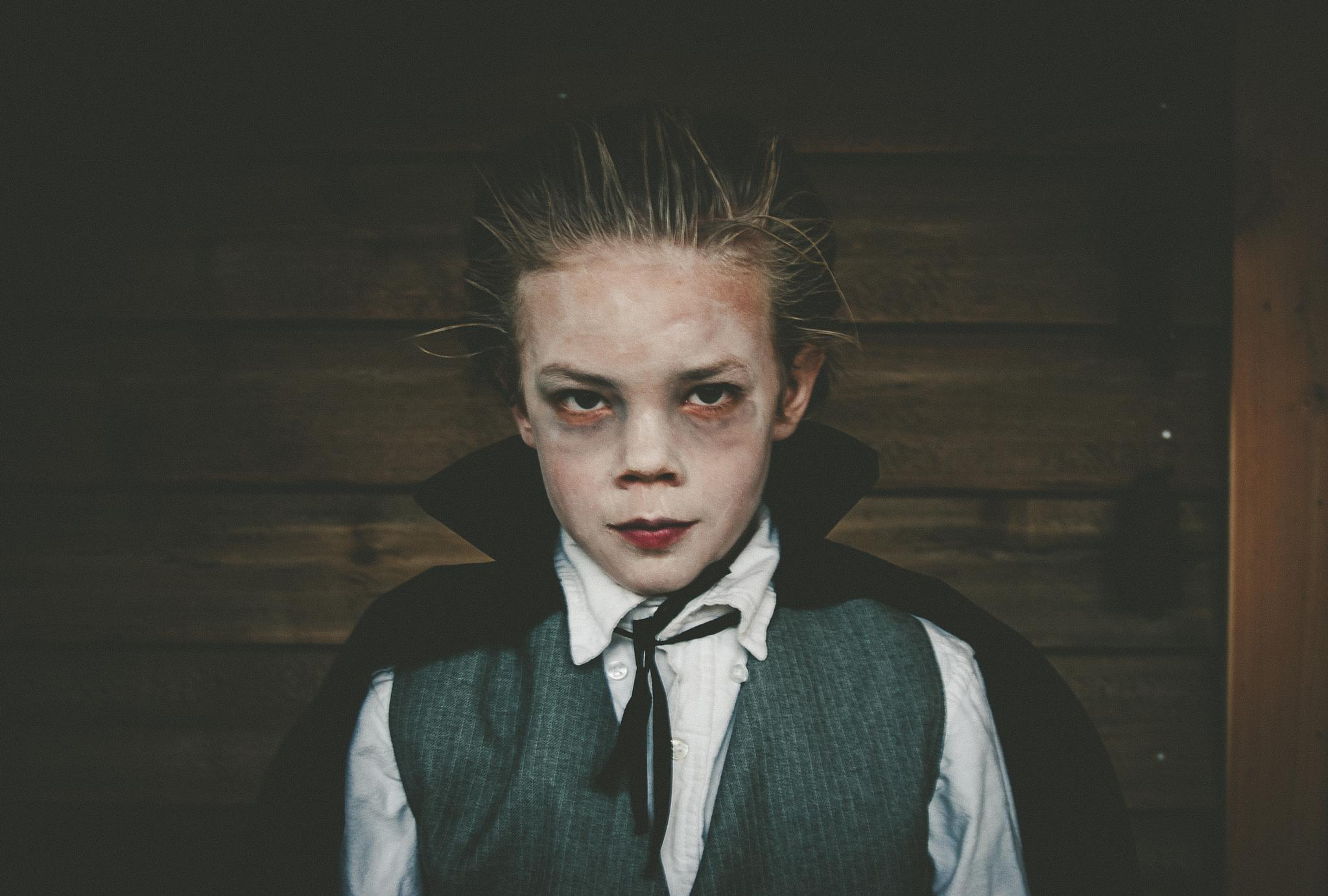 Photo in People #young dracula halloween