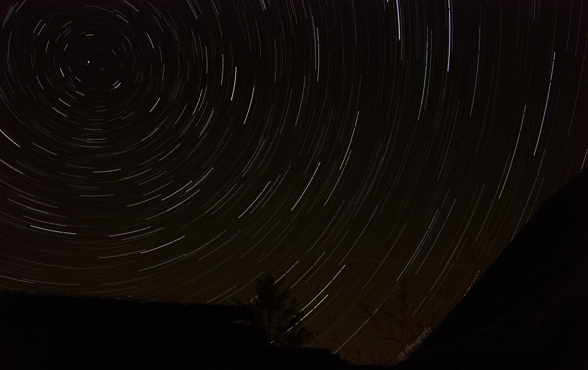 Star trails by Tomas Blanar