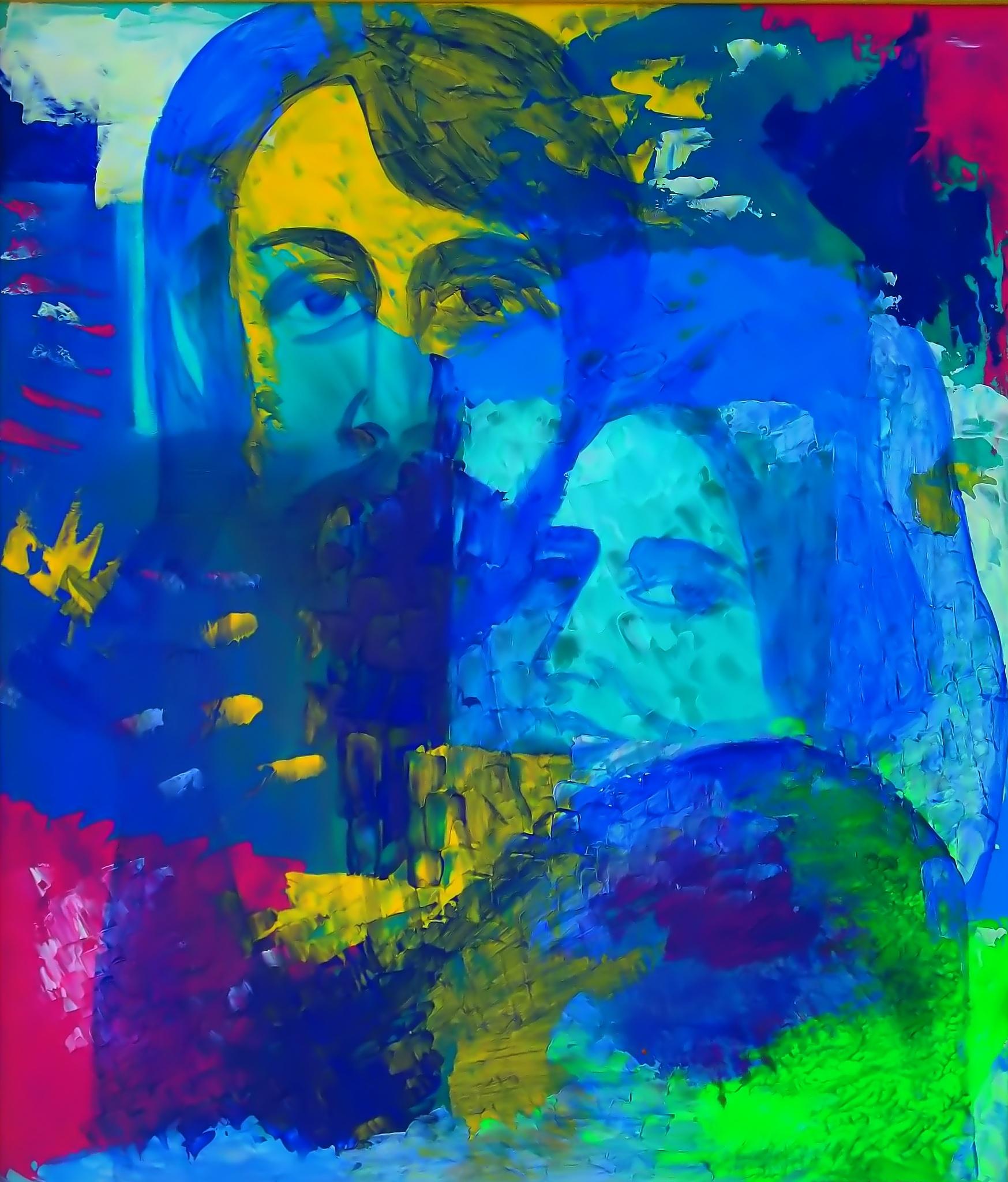 Photo in Fine Art #paul and linda mccartney #artist sergey parfeniuk