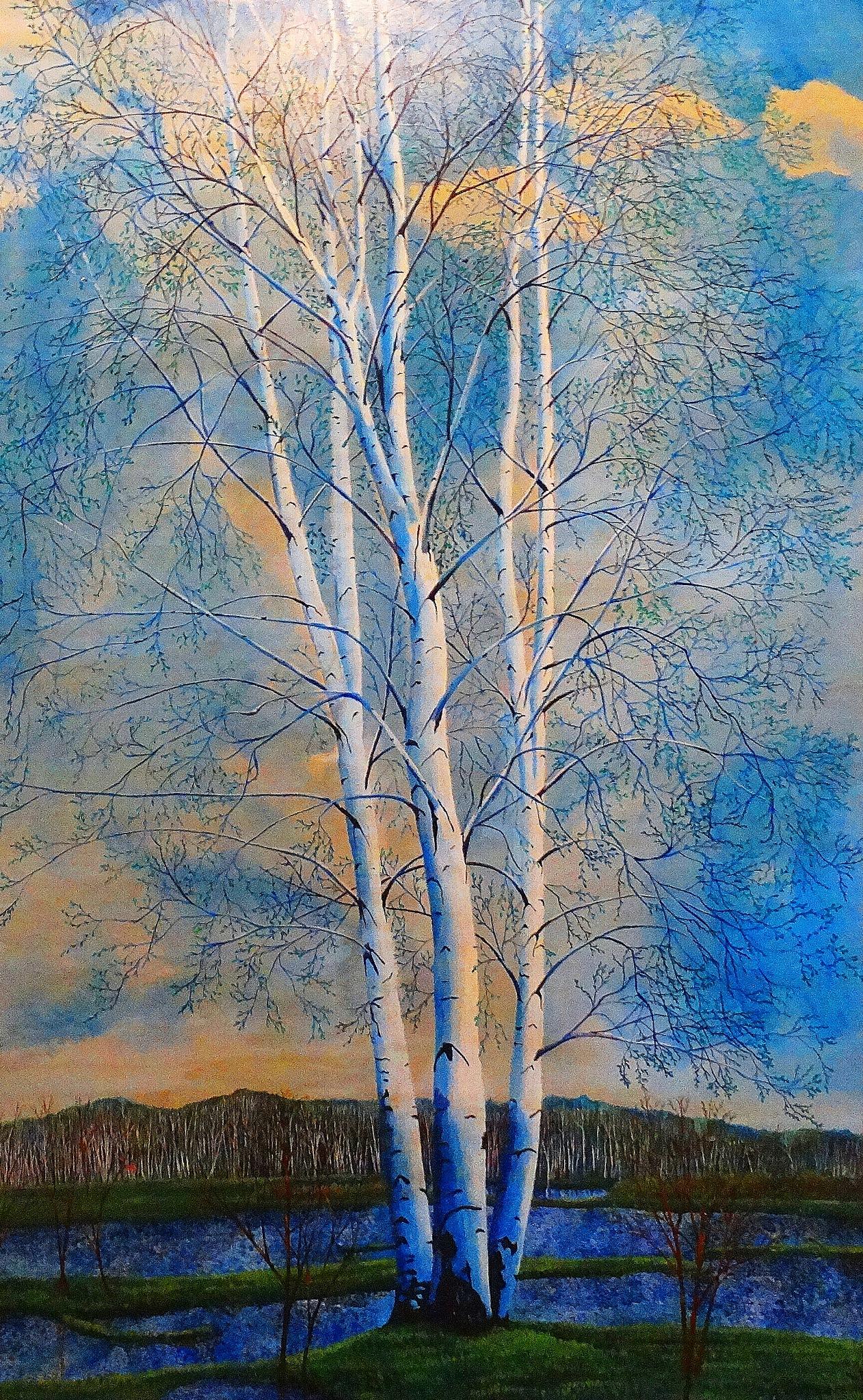 Birches  by sergey.parfeniuk
