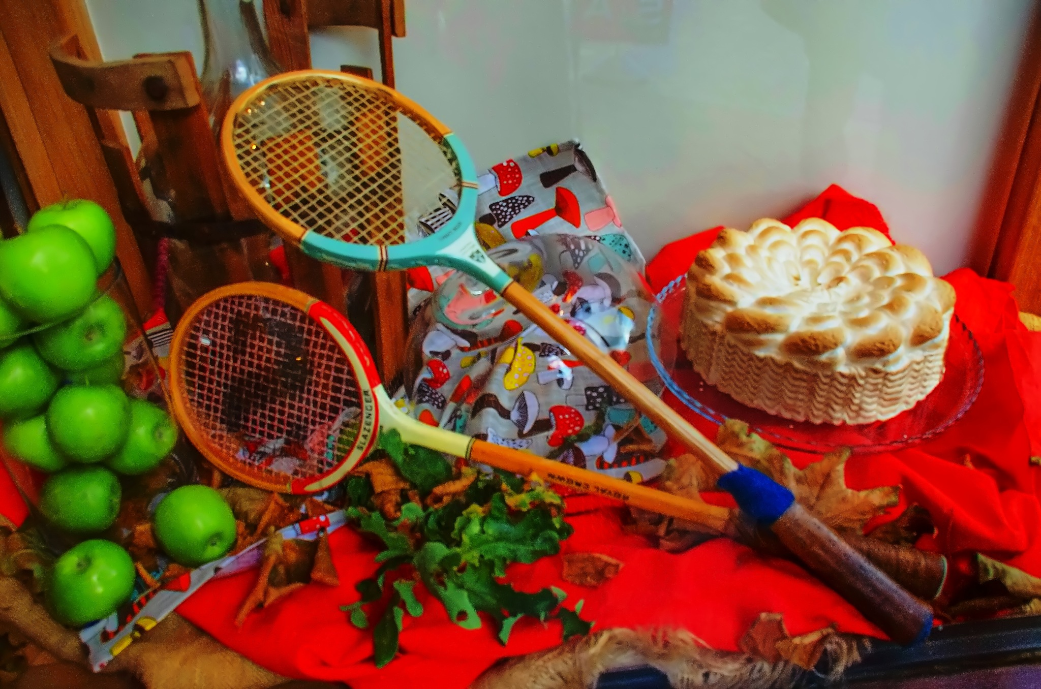 Still life with rackets by sergey.parfeniuk