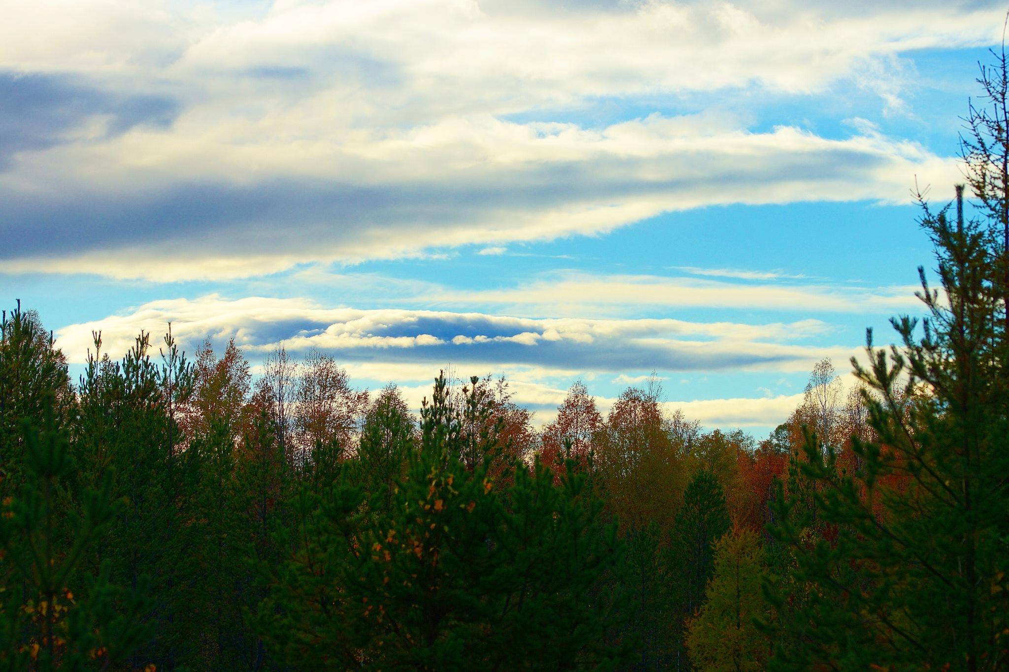 Clouds of October by sergey.parfeniuk