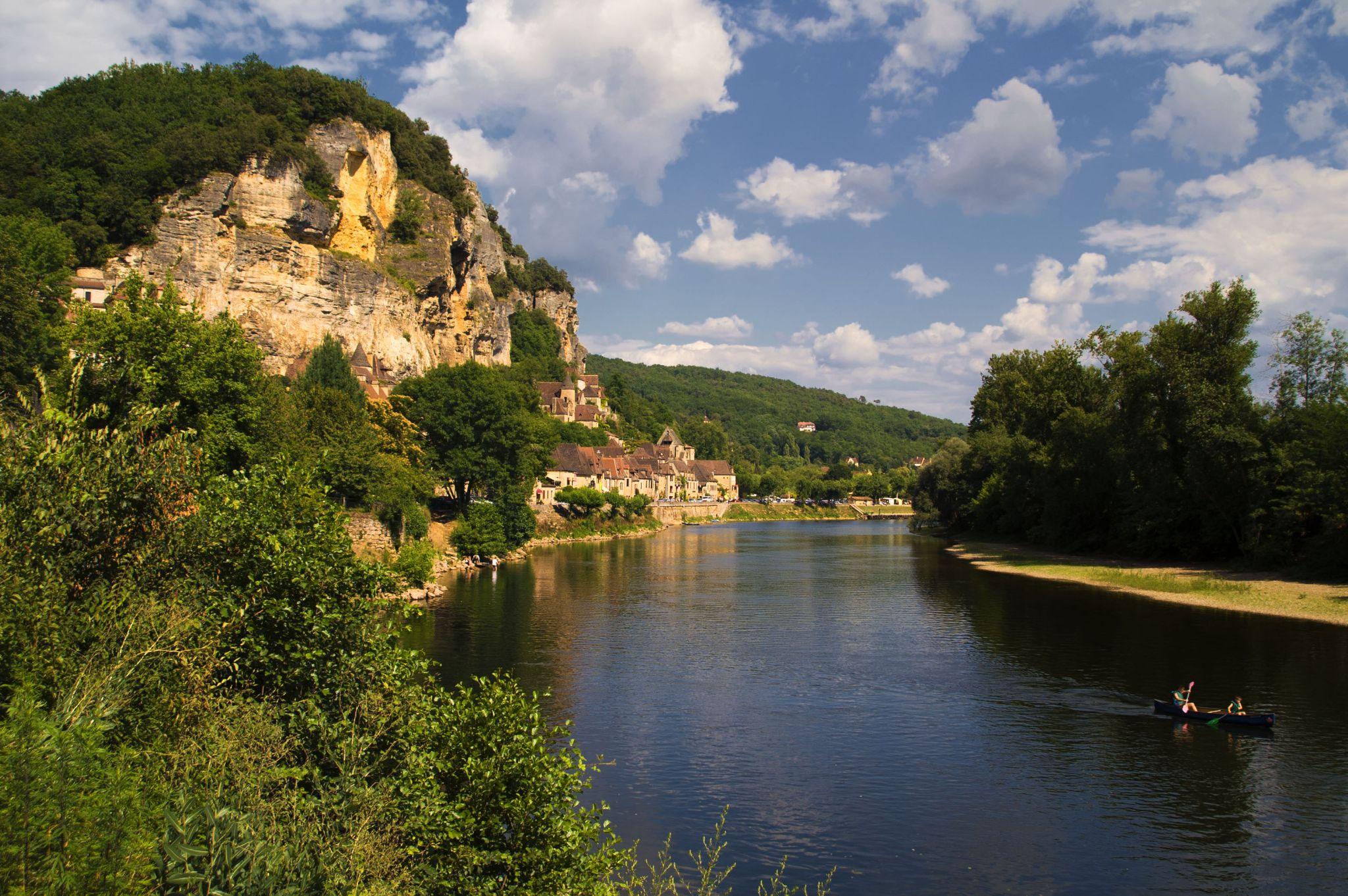 La Roque-Gageac by Philippe Boite