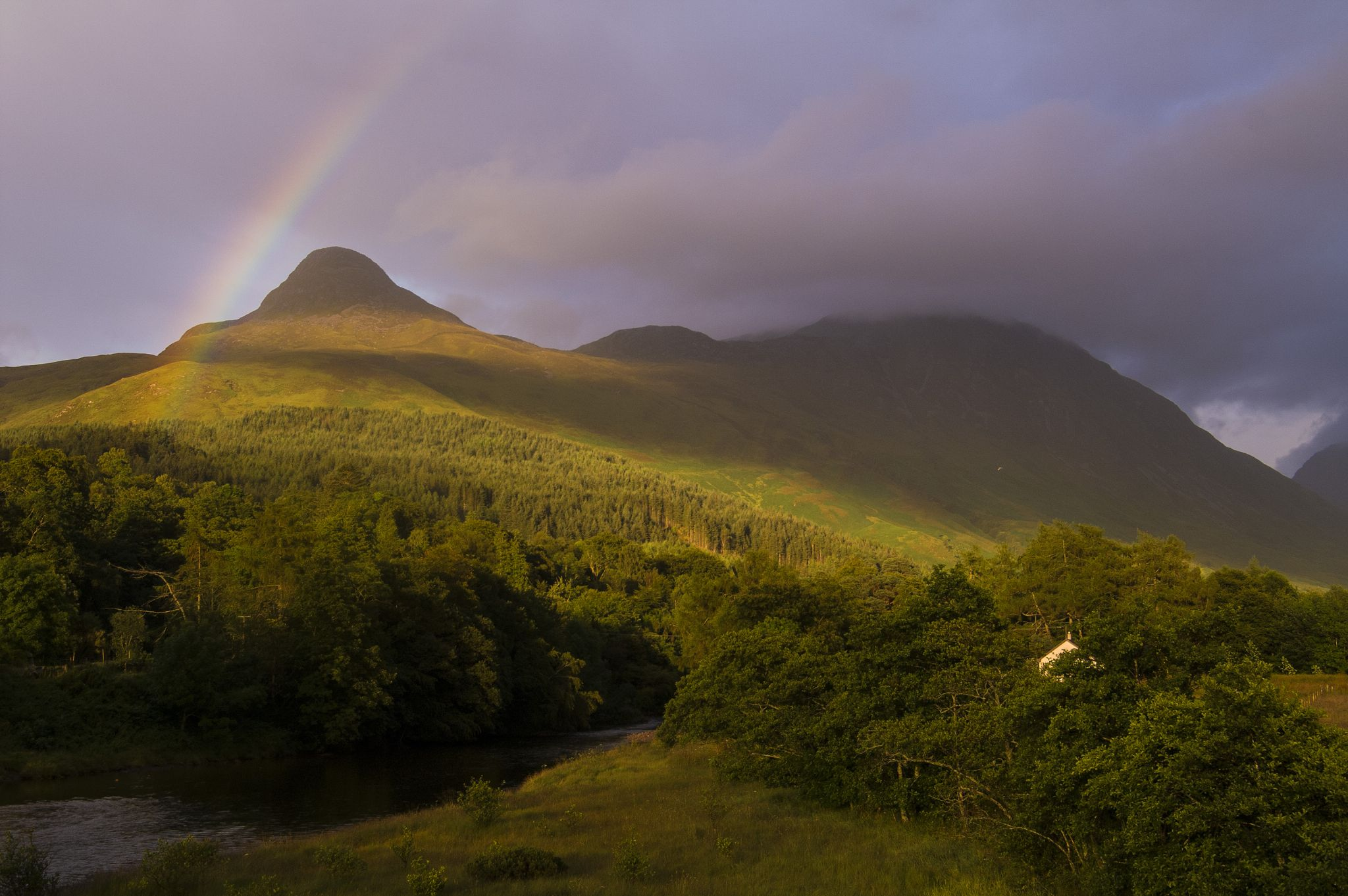 The Pap of Glencoe by Philippe Boite
