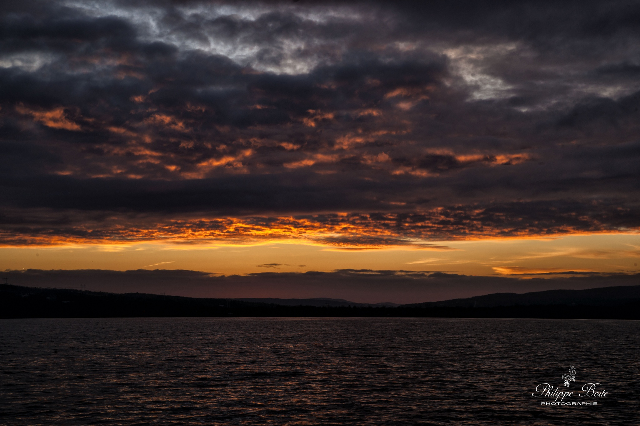 Another colourful sunrise by Philippe Boite
