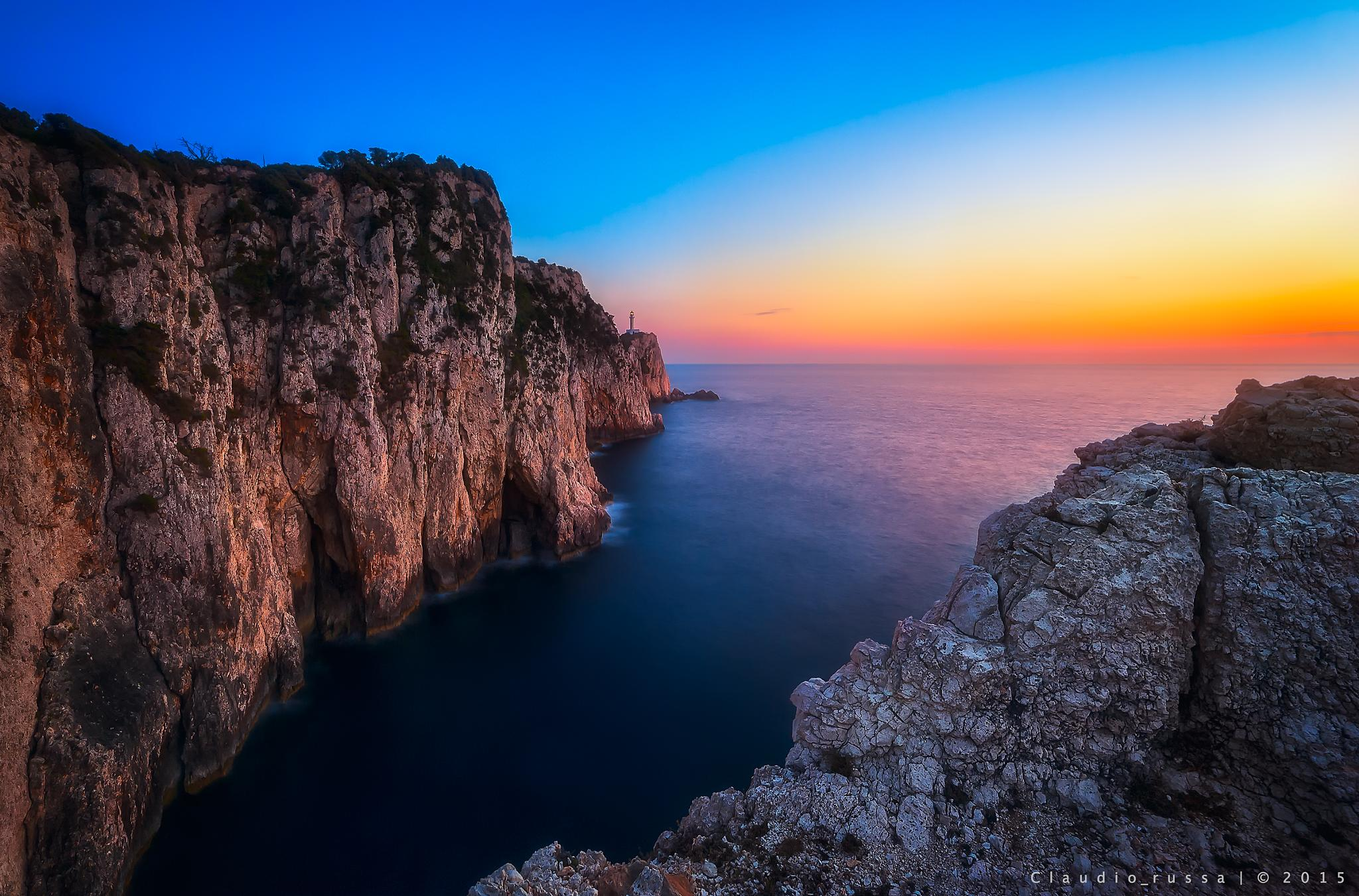 Wherebthe land ends by Claudio Russa Photography
