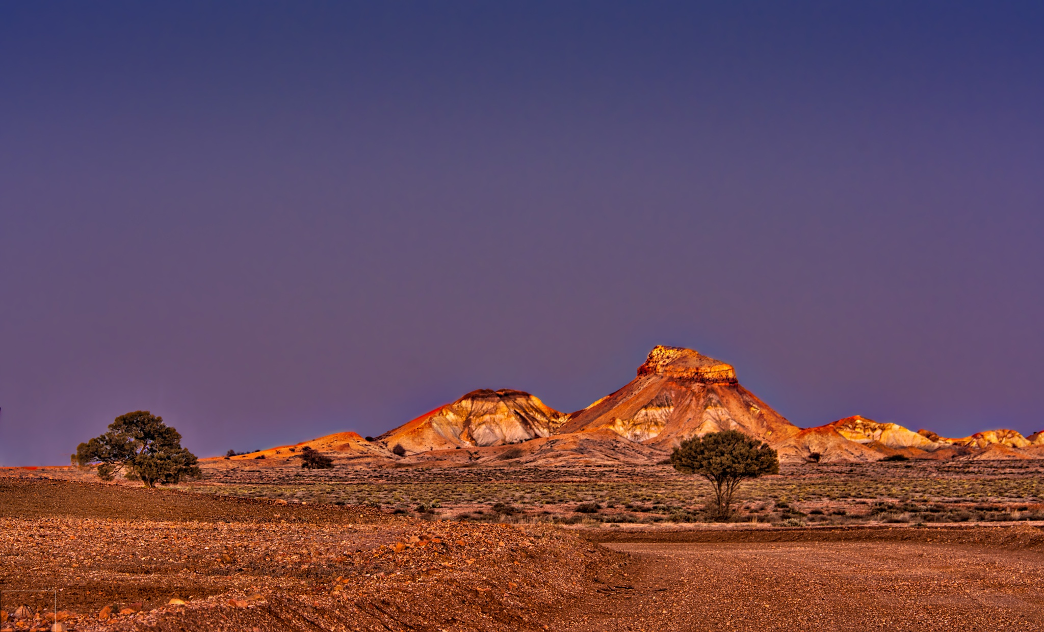Painted Desert Aflame by Pieter Pretorius