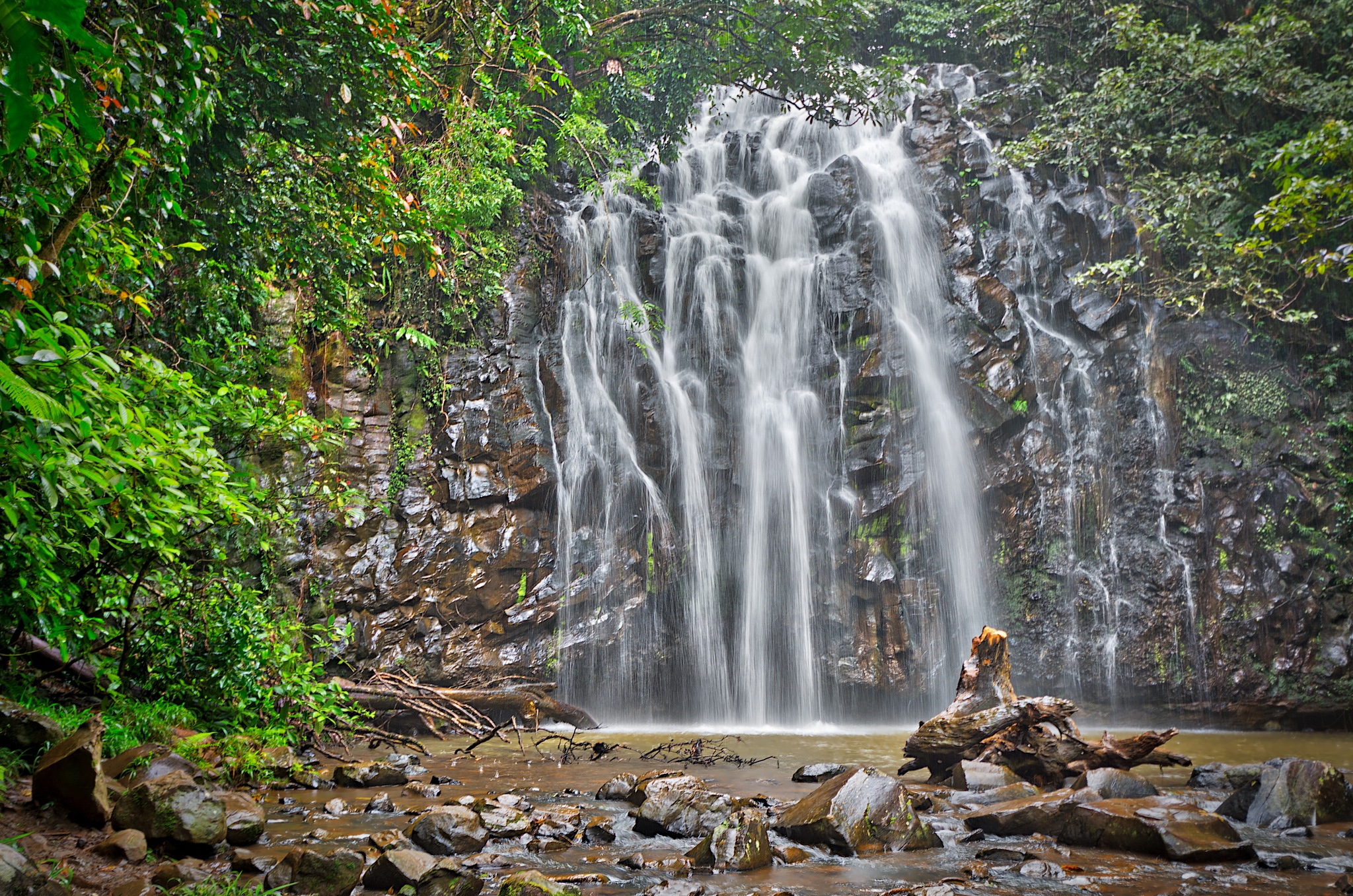Ellinjaa Falls by Pieter Pretorius
