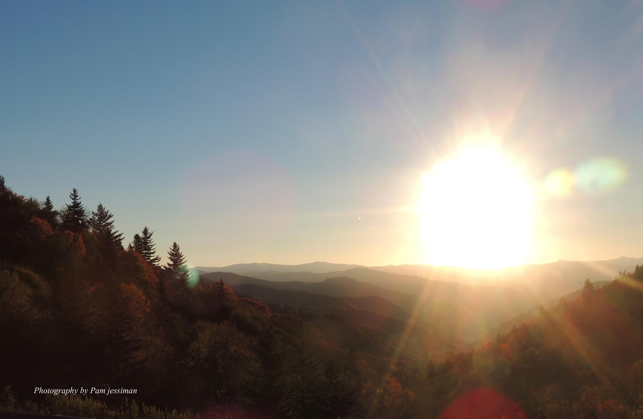 Mountains of North Carolina  by pamjessiman