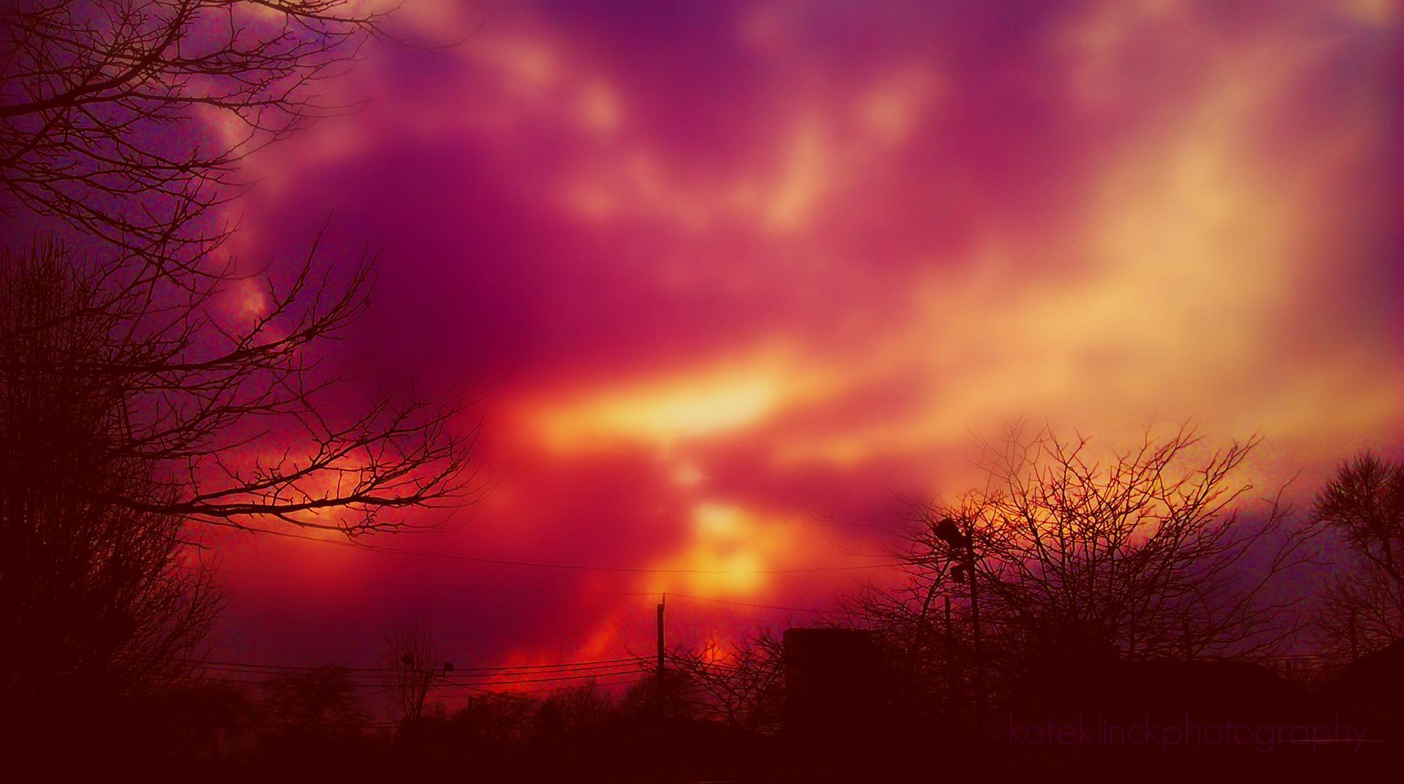 City Sunset by katherine.klinck