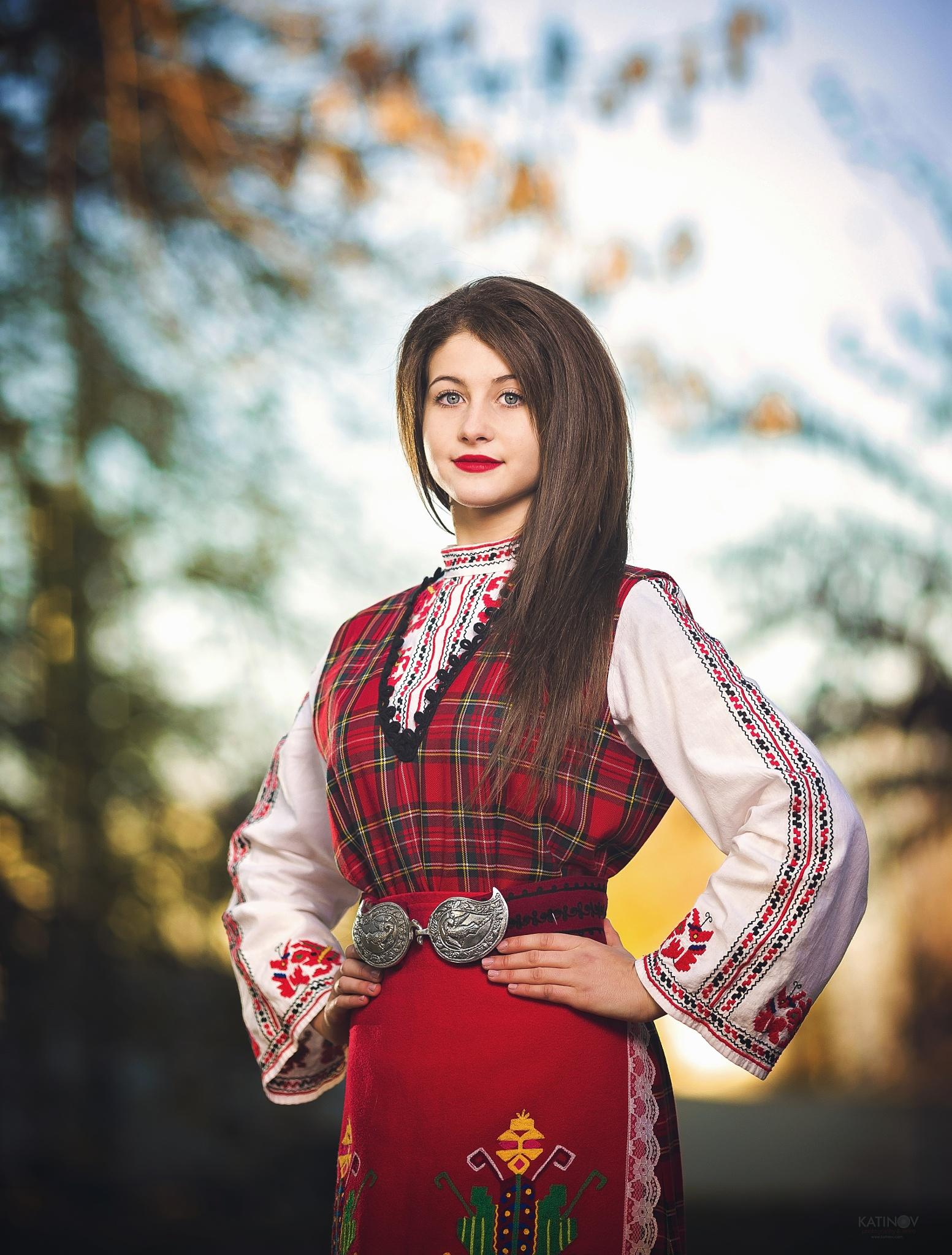 Young Bulgarian folk dancer ! by Stoyan Katinov