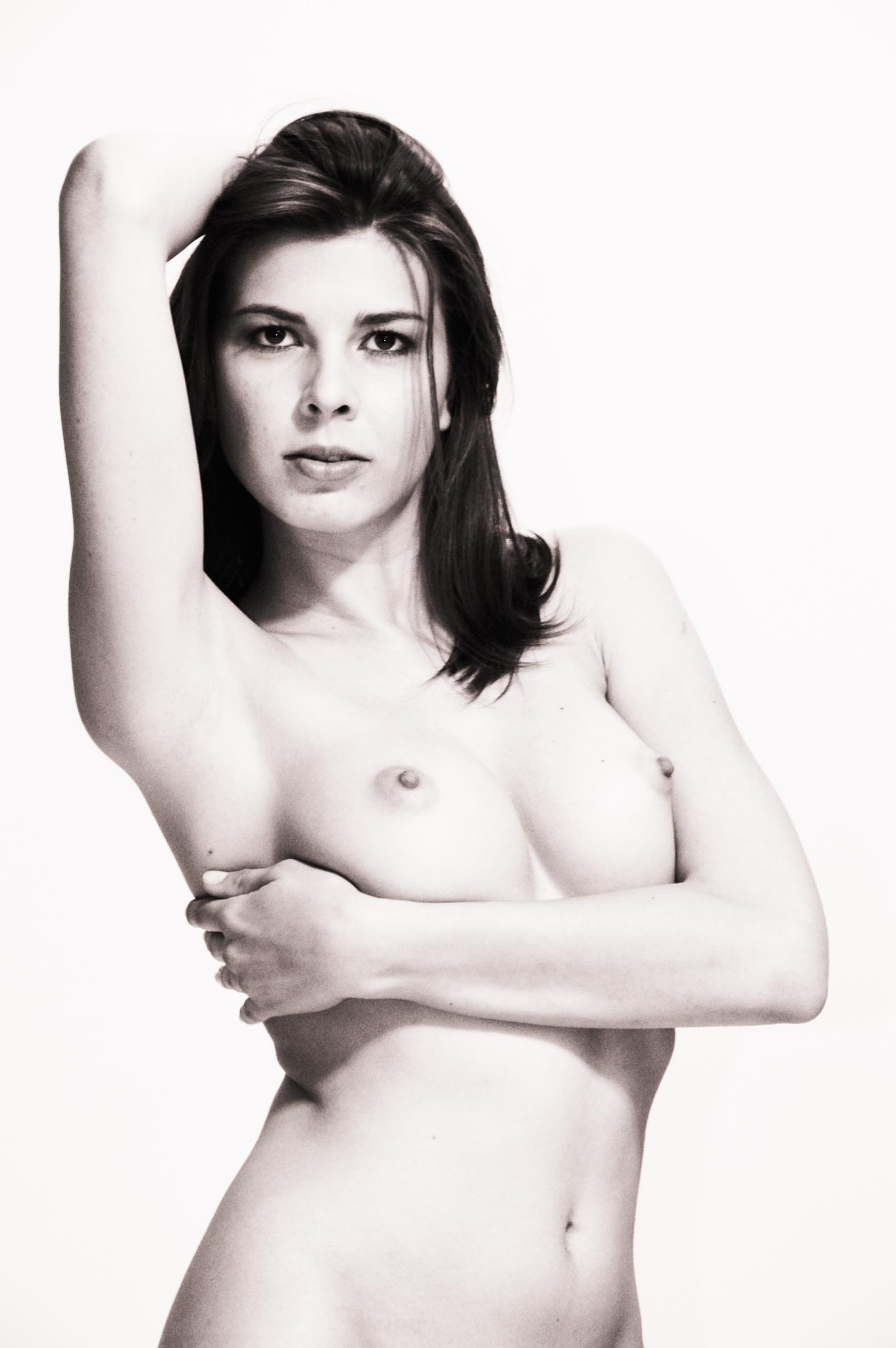 Photo in Nude #nude #high key #sexy #b&w
