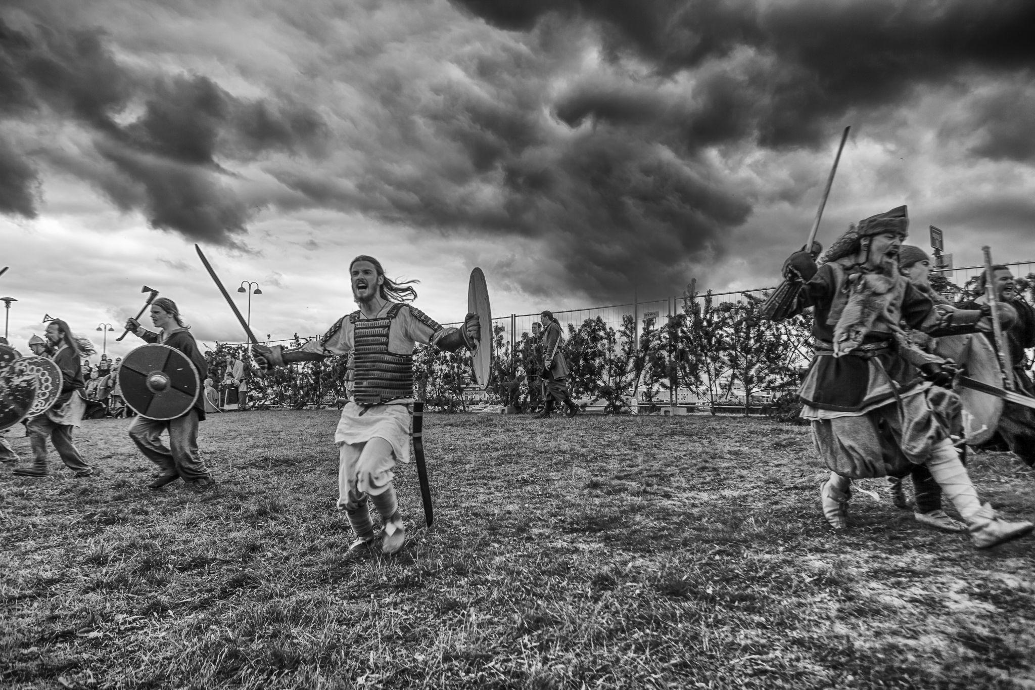 Icelandic Vikings  by Gunnlaugur Orn Valsson