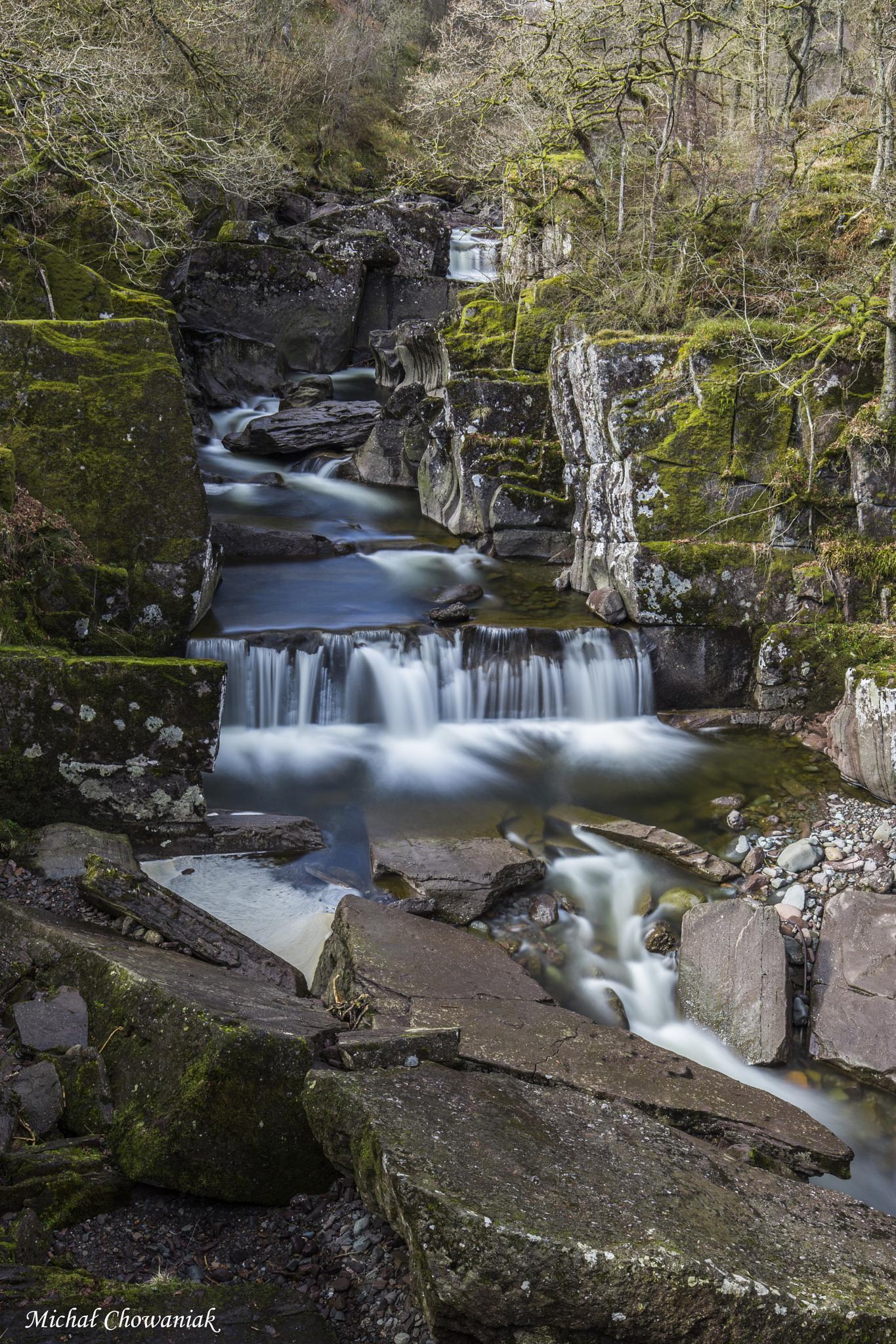 Bracklinn Falls by Michal Chowaniak