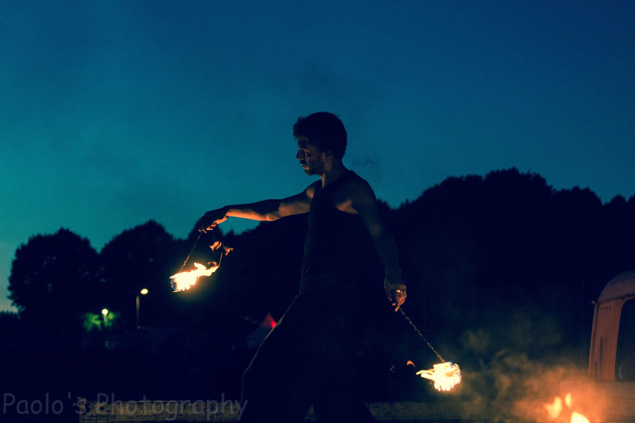 Feuershow by Paolo's Photography