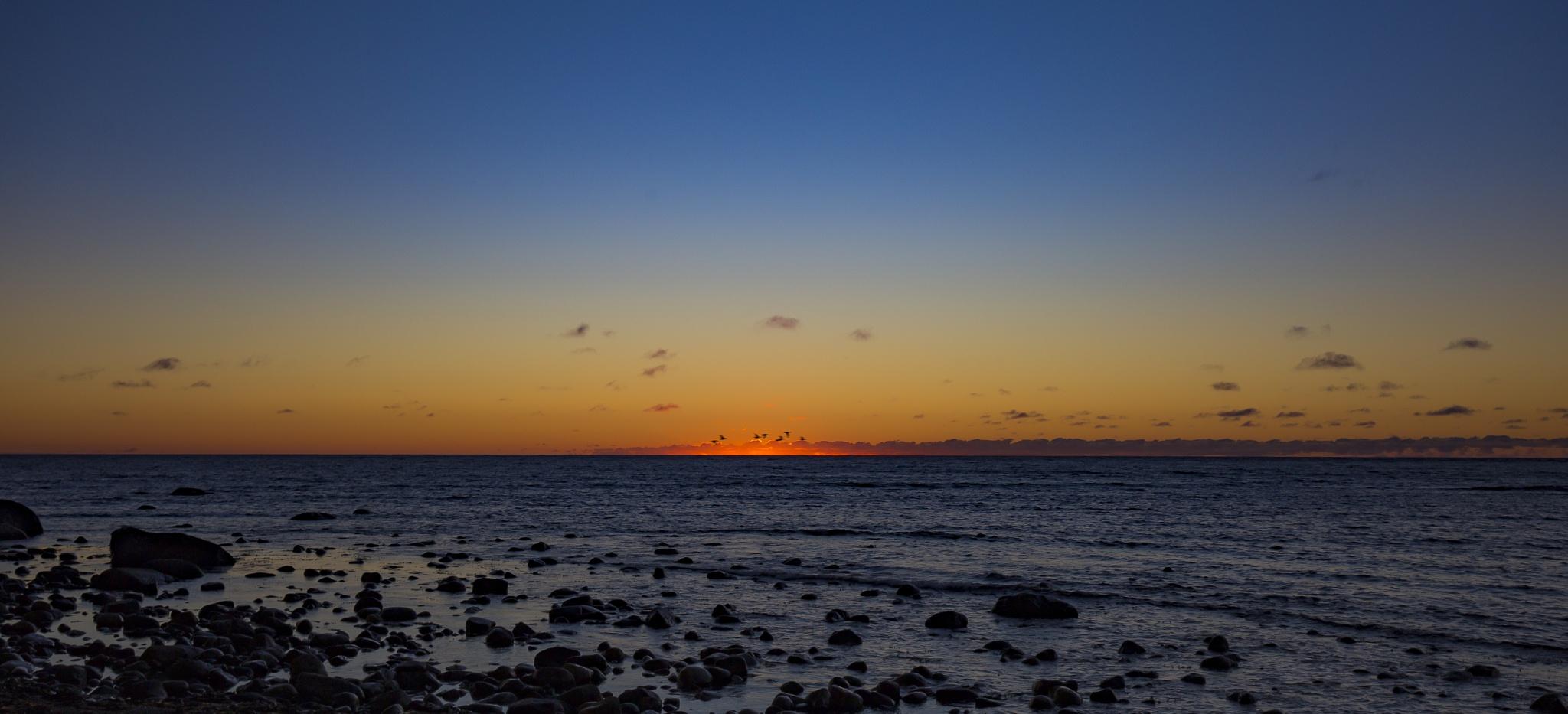Sunset by Ralf Halvorsrød