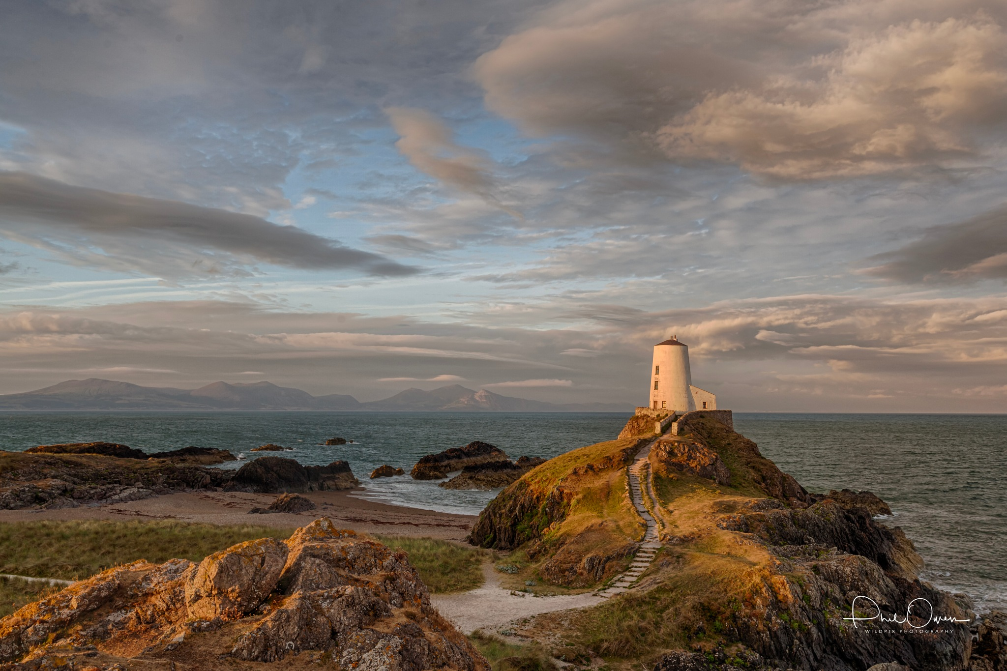 Light House at Dawn by Phil