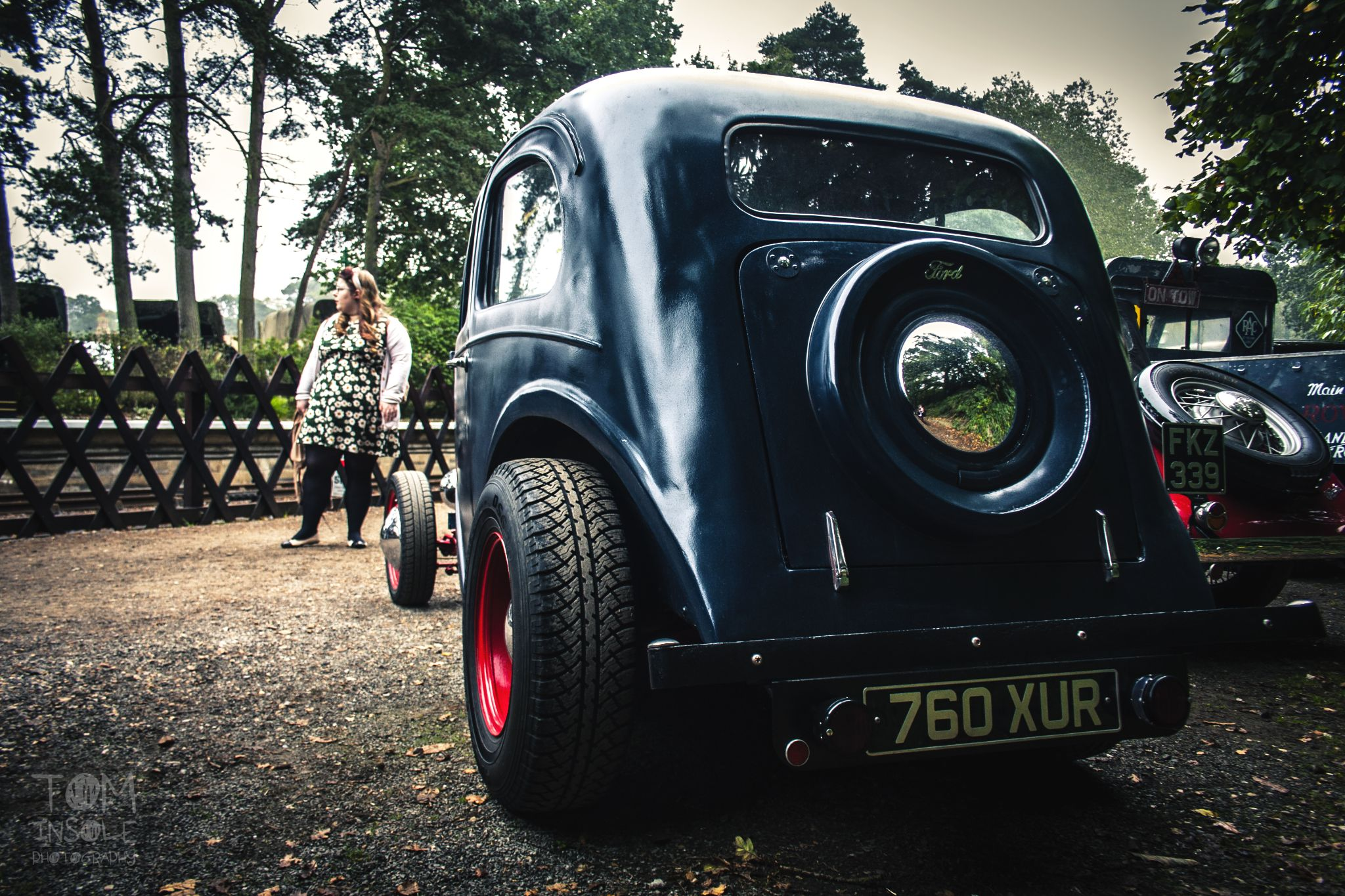 Retro 40's Gasser by Tom Insole