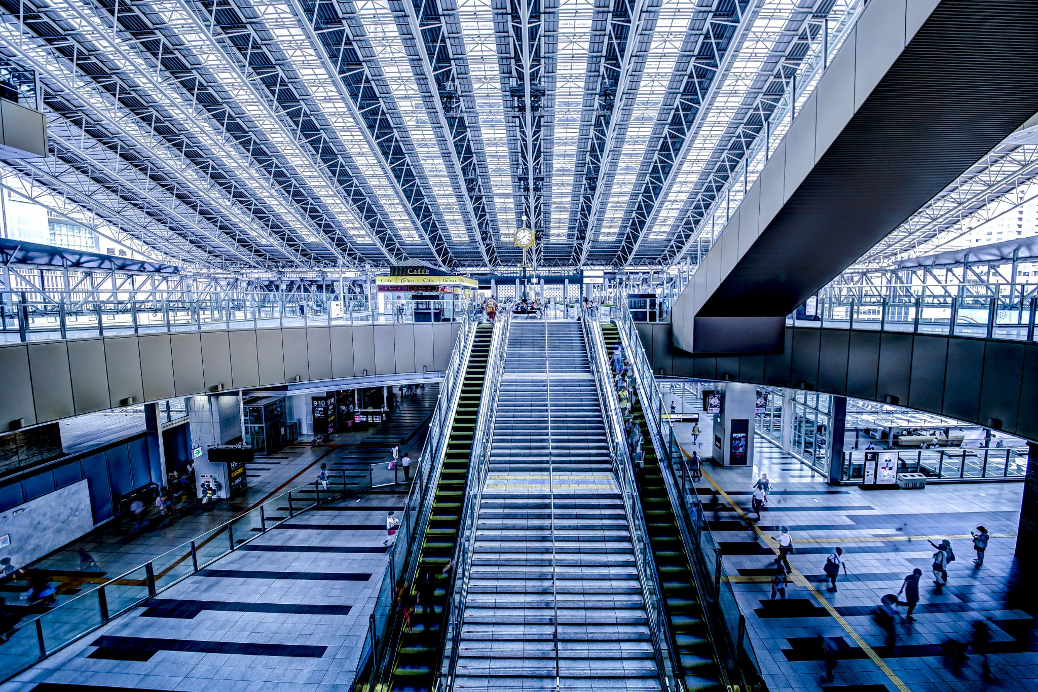 Osaka station by yukmiy