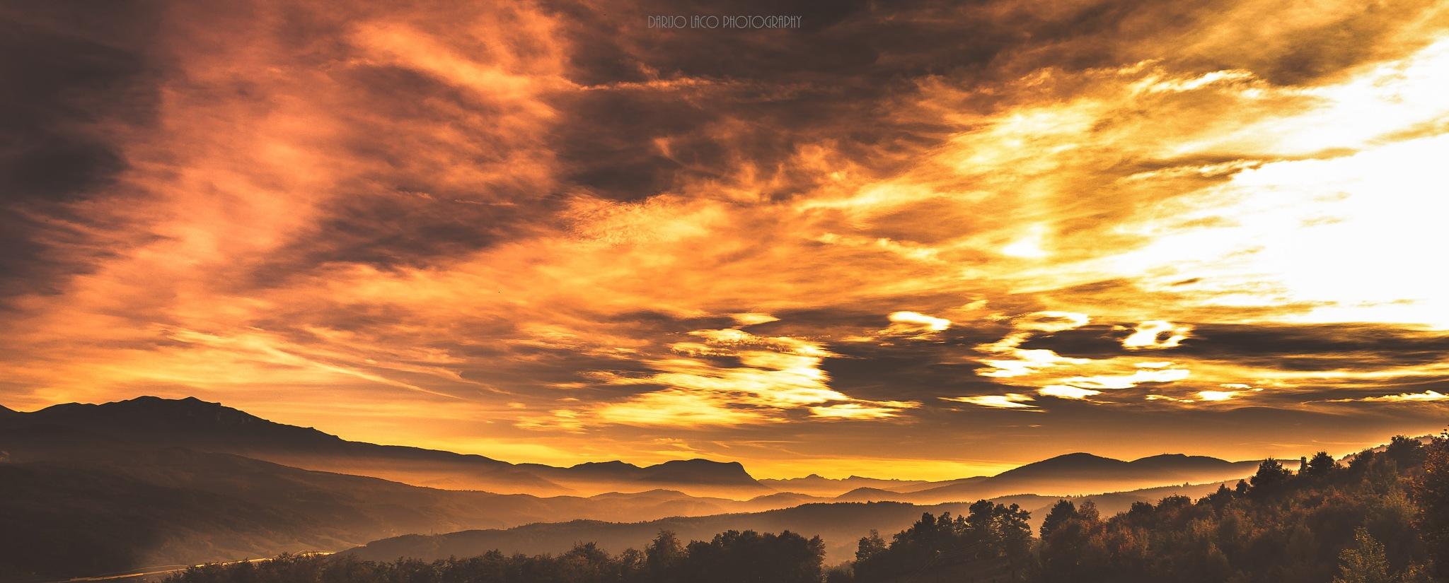 Autumnal Landscape by Darijo Laco