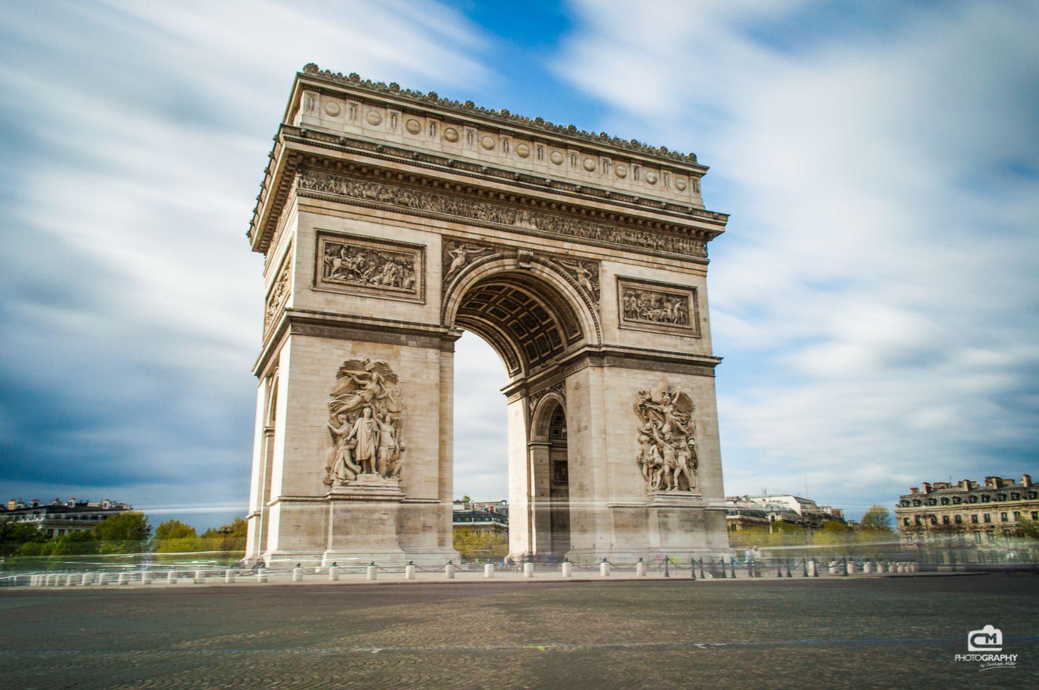 Arc de Triomphe, France by Christoph Müller