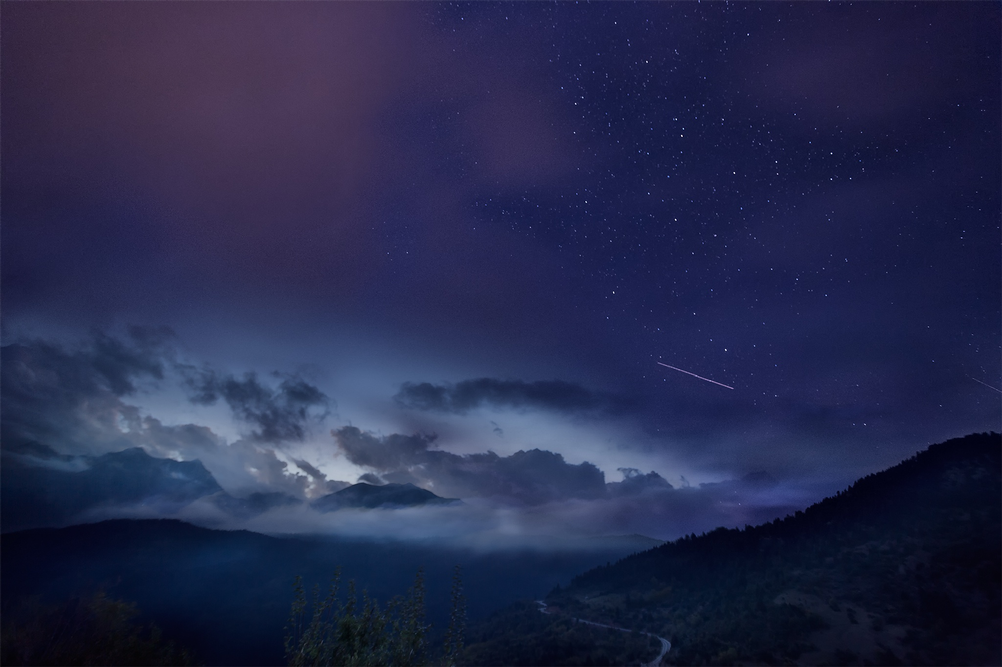 Falling Star by iliasagiostratitis