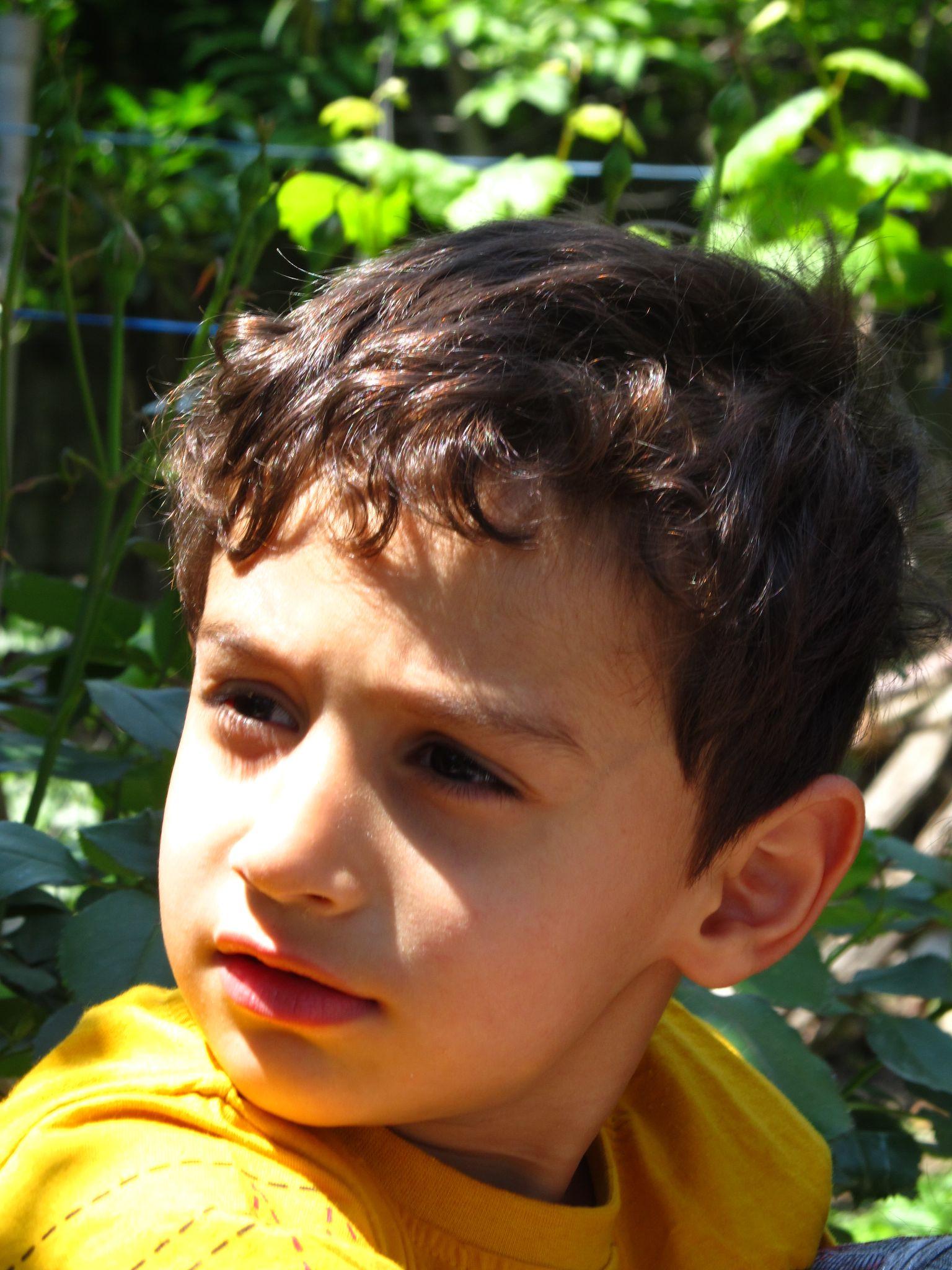 little boy by Ehsan