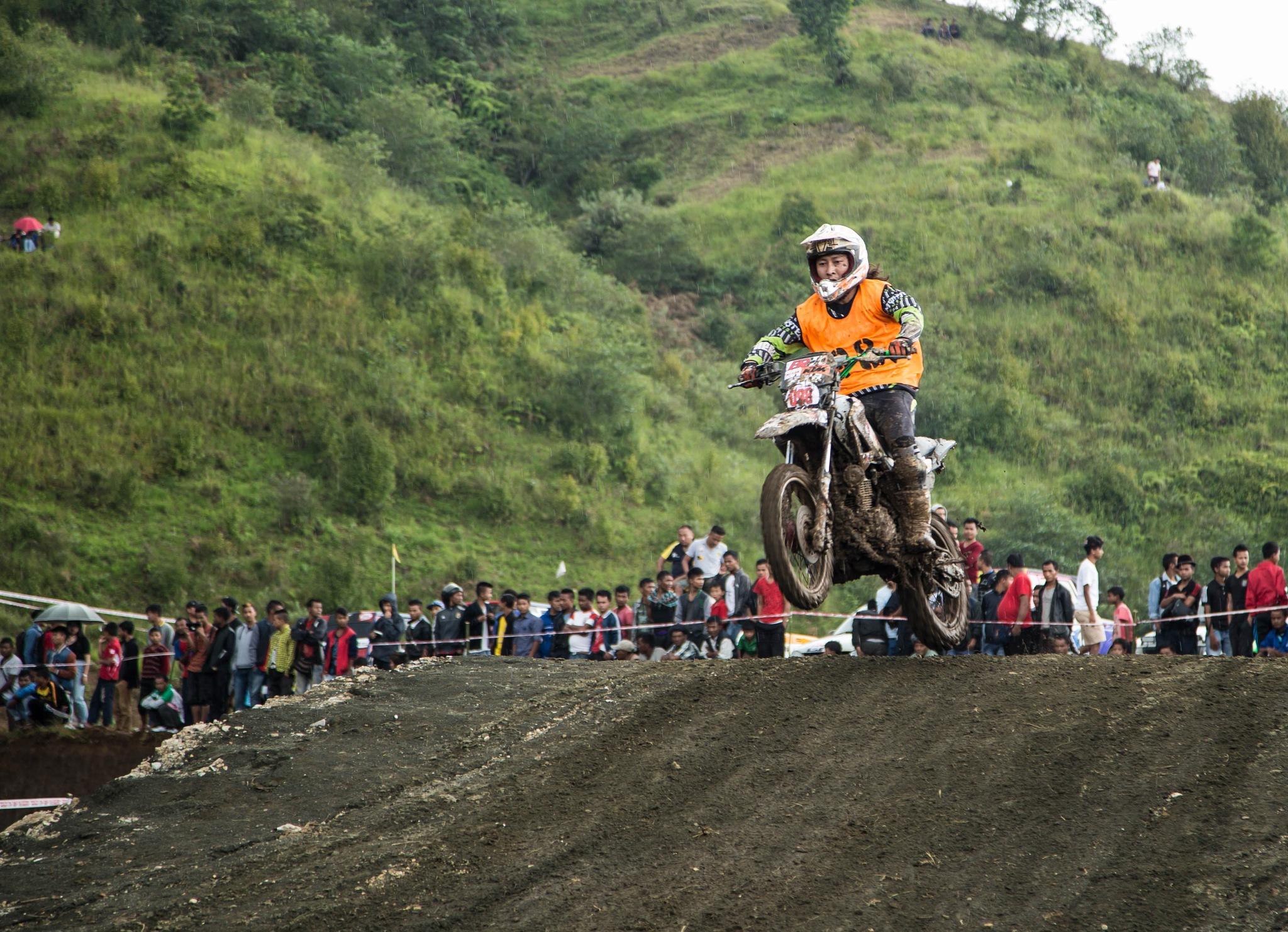 Hard track Bike sports by Amalraj