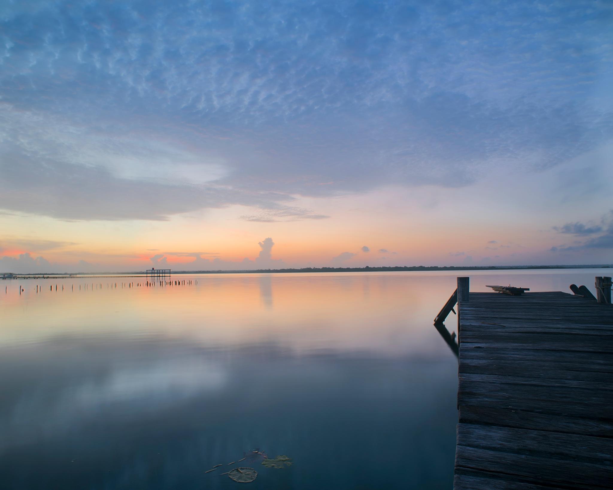 Sunset deck by fernandezoscar
