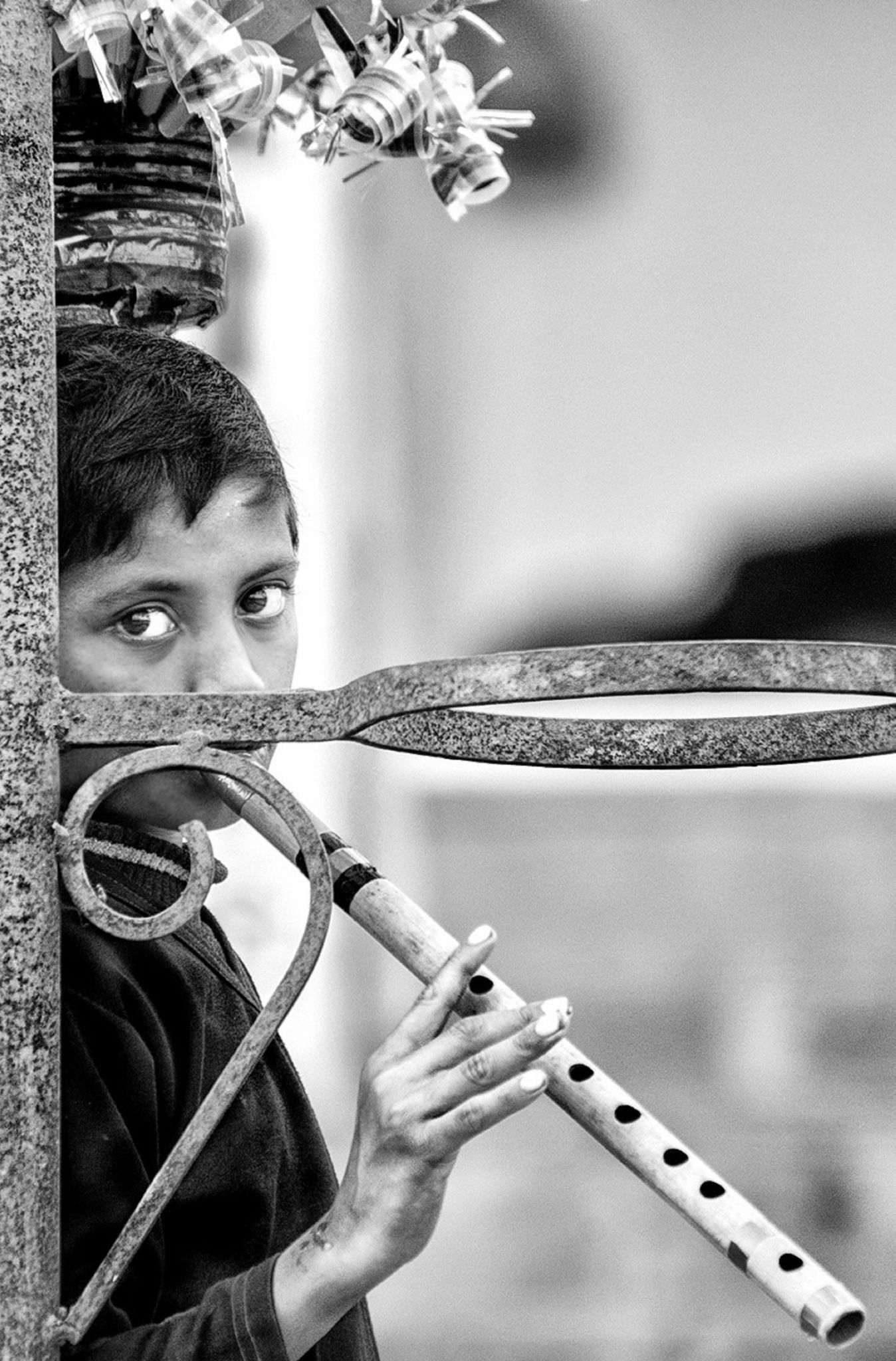 The Flute Seller by Anirban Chaklader Frames