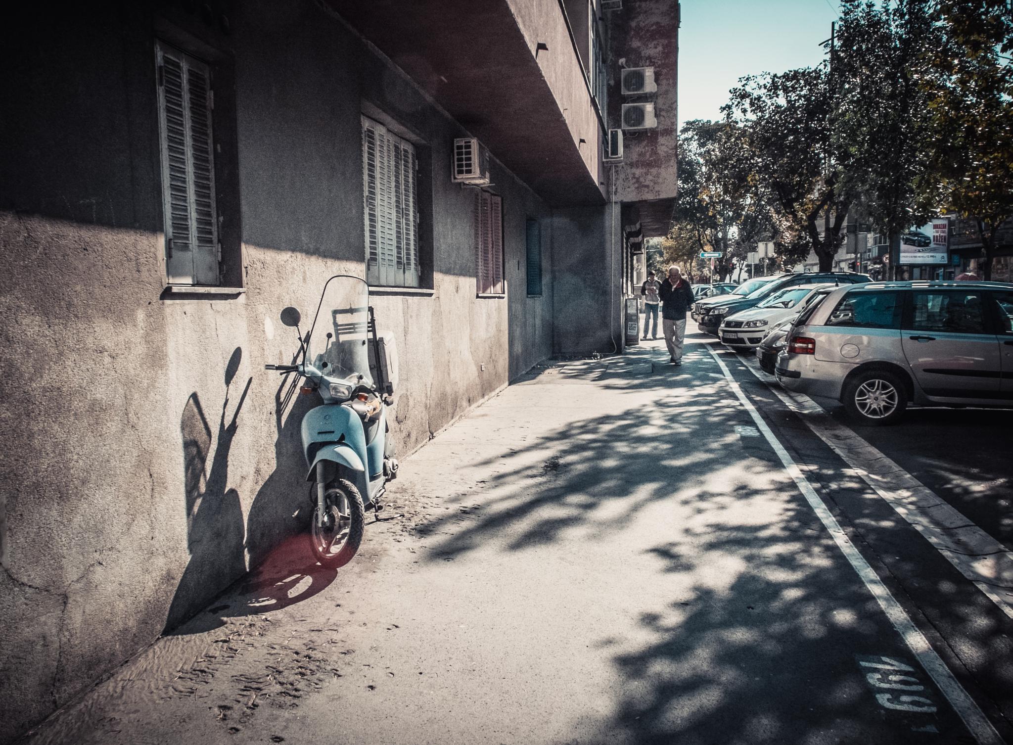 Belgrade streets by Mikhail Gnutov