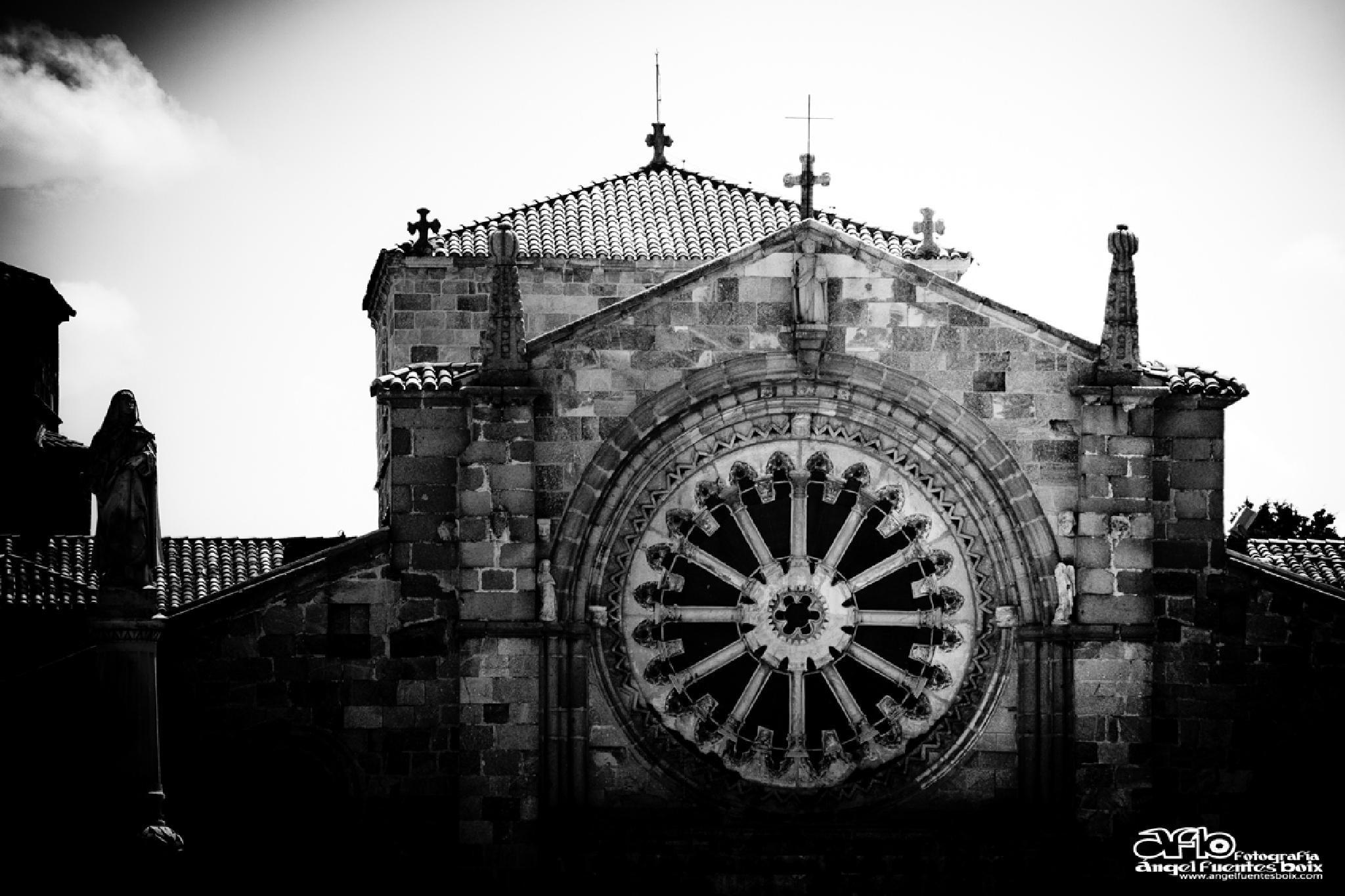 CATEDRAL DE AVILA by angel.fuentesboixFotografia