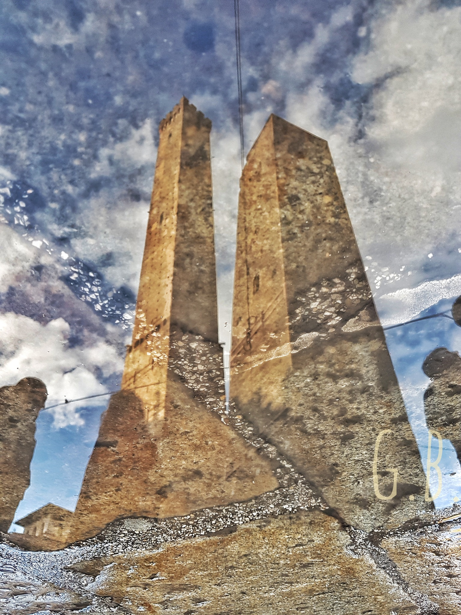 water reflection by giancarlobarbieribologna
