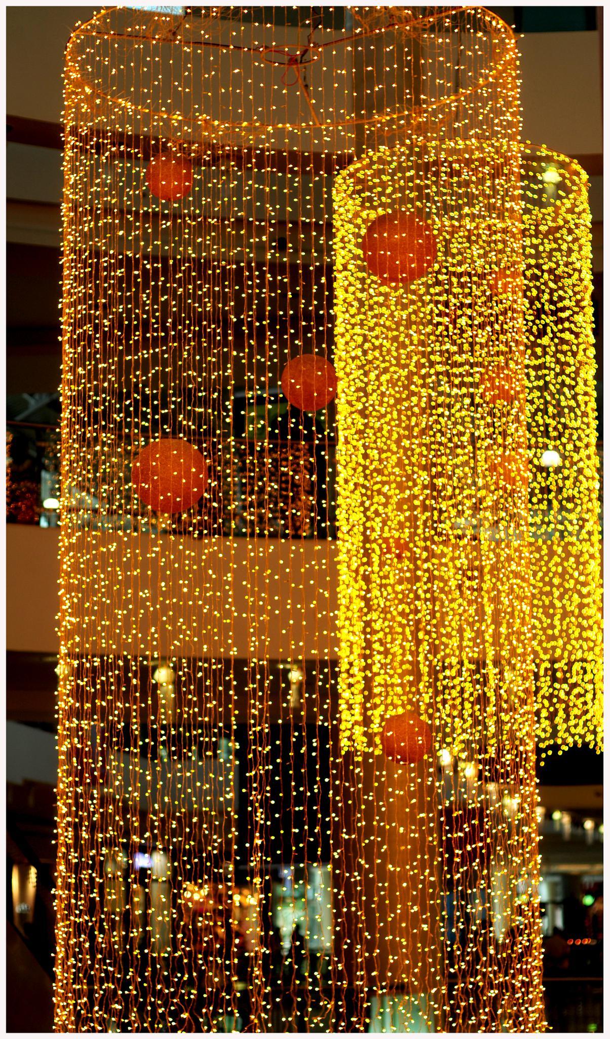 lighting decoration @ mall by satish.ballal