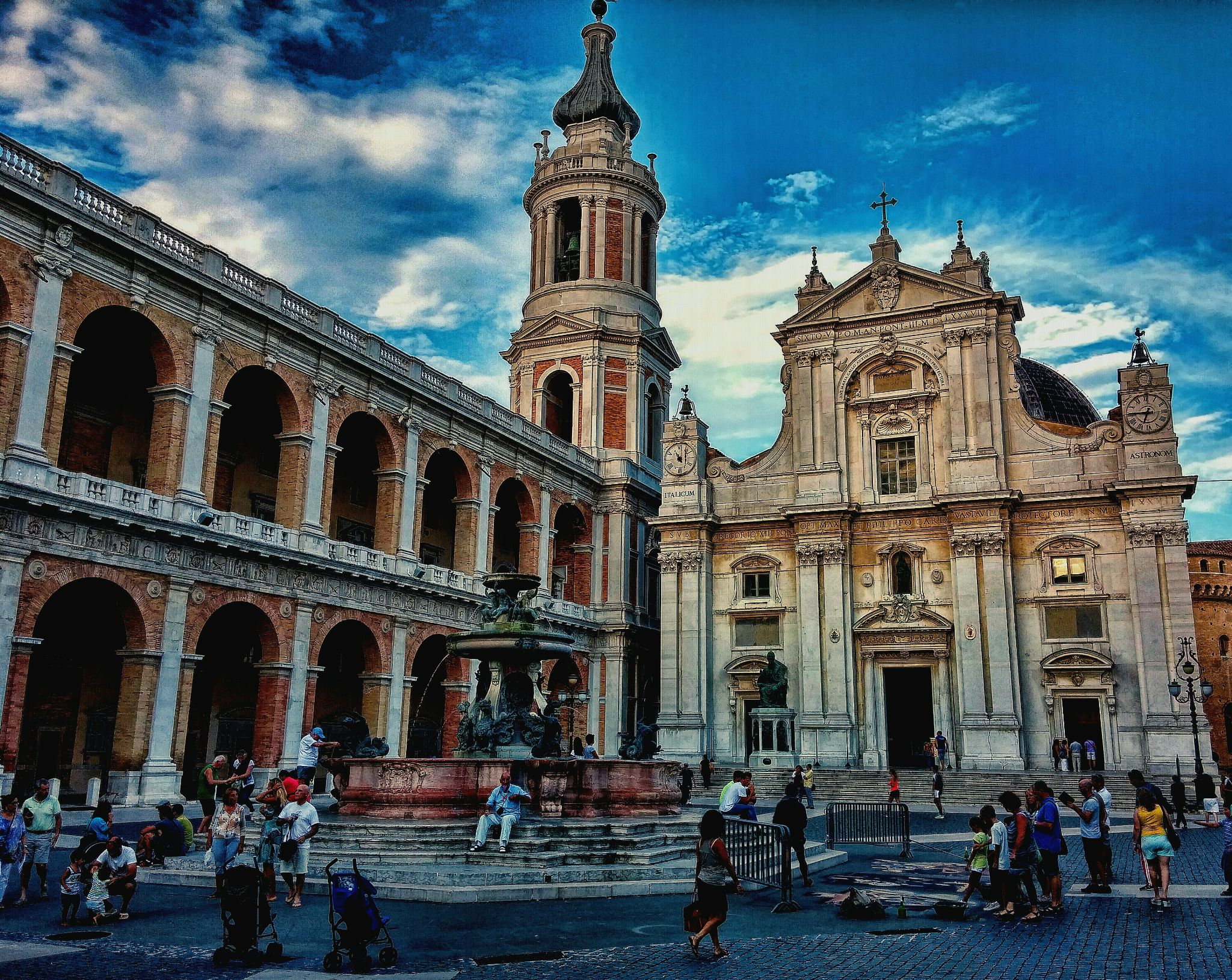 Loreto's church by patrianpaolo