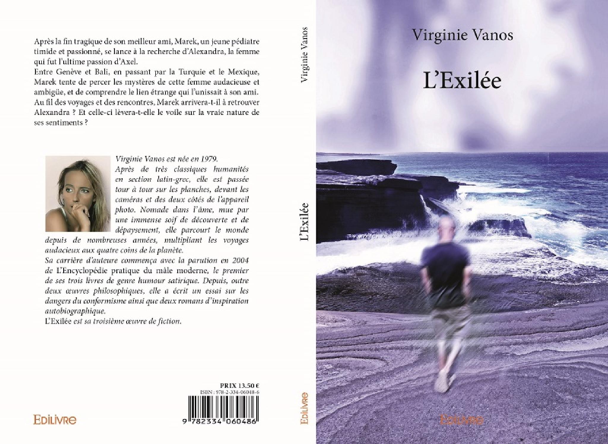 """Couverture de mon 9ème livre, """"L'Exilée""""... by VirginieVanos"""