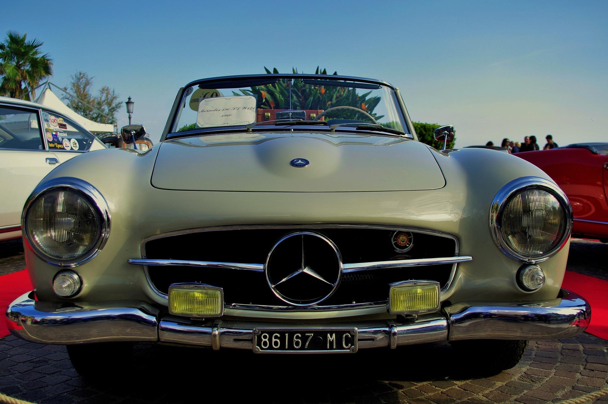 Mercedes 190 (1960) by Giuseppe Valvo