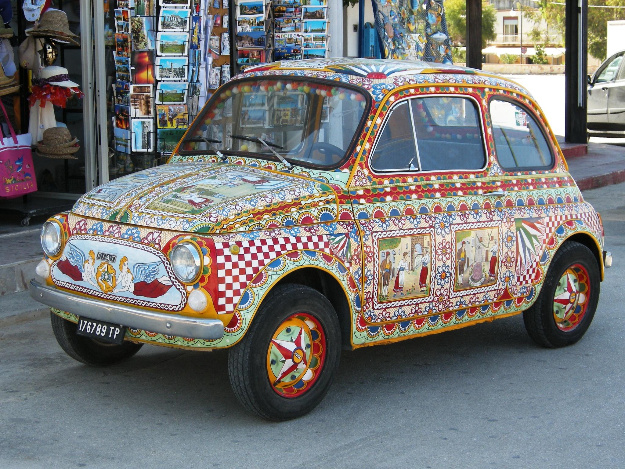 Fiat 500 by Giuseppe Valvo