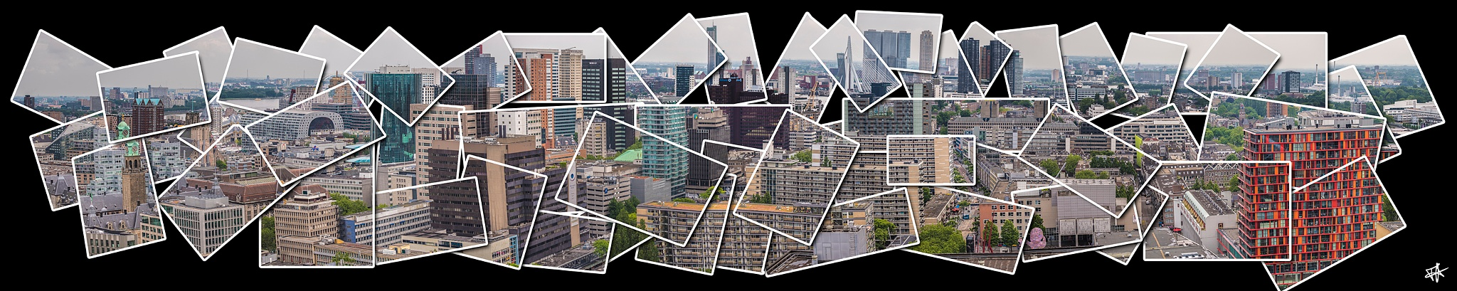 Skyline Rotterdam by fred.leeflang.7