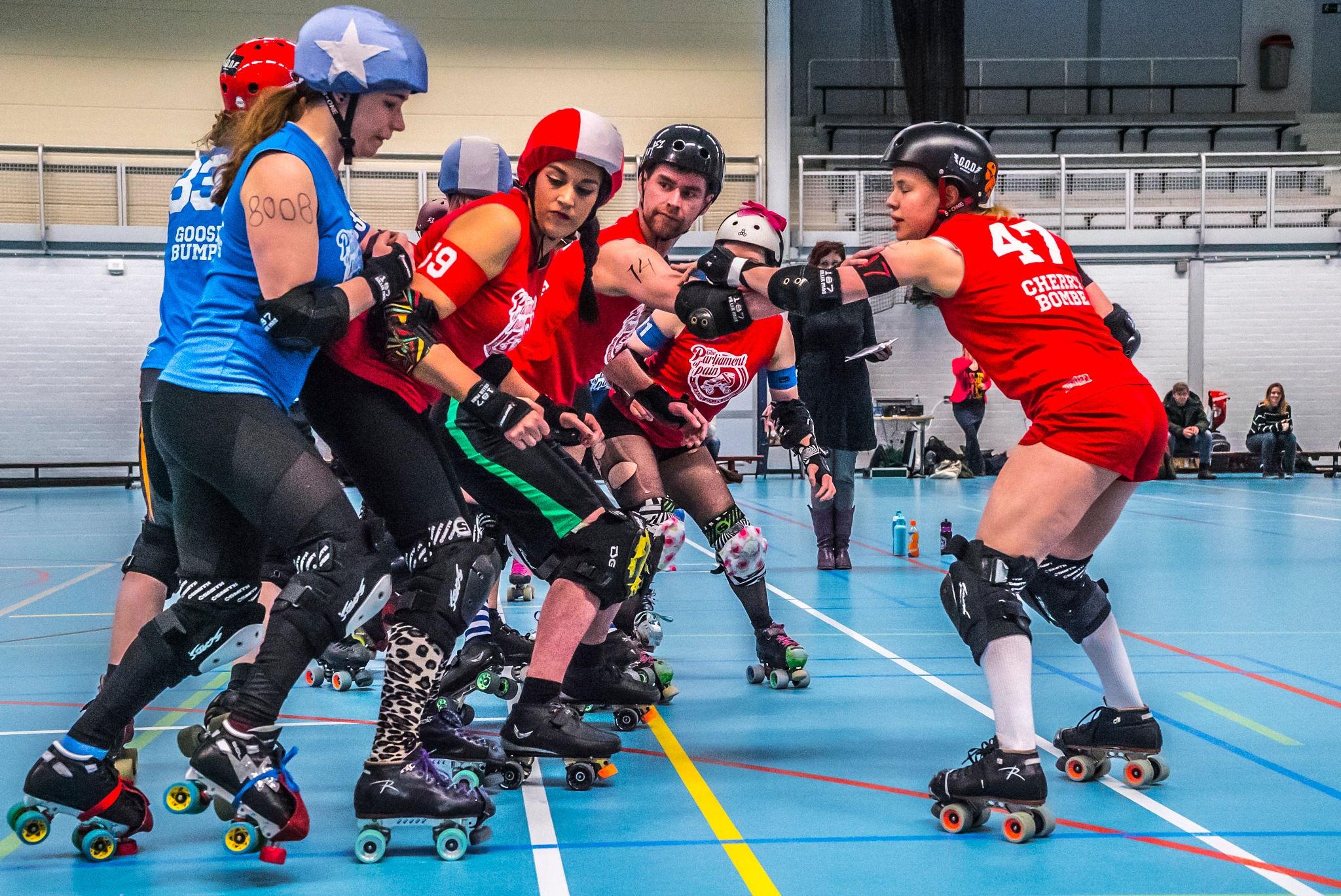 Roller derby by fred.leeflang.7