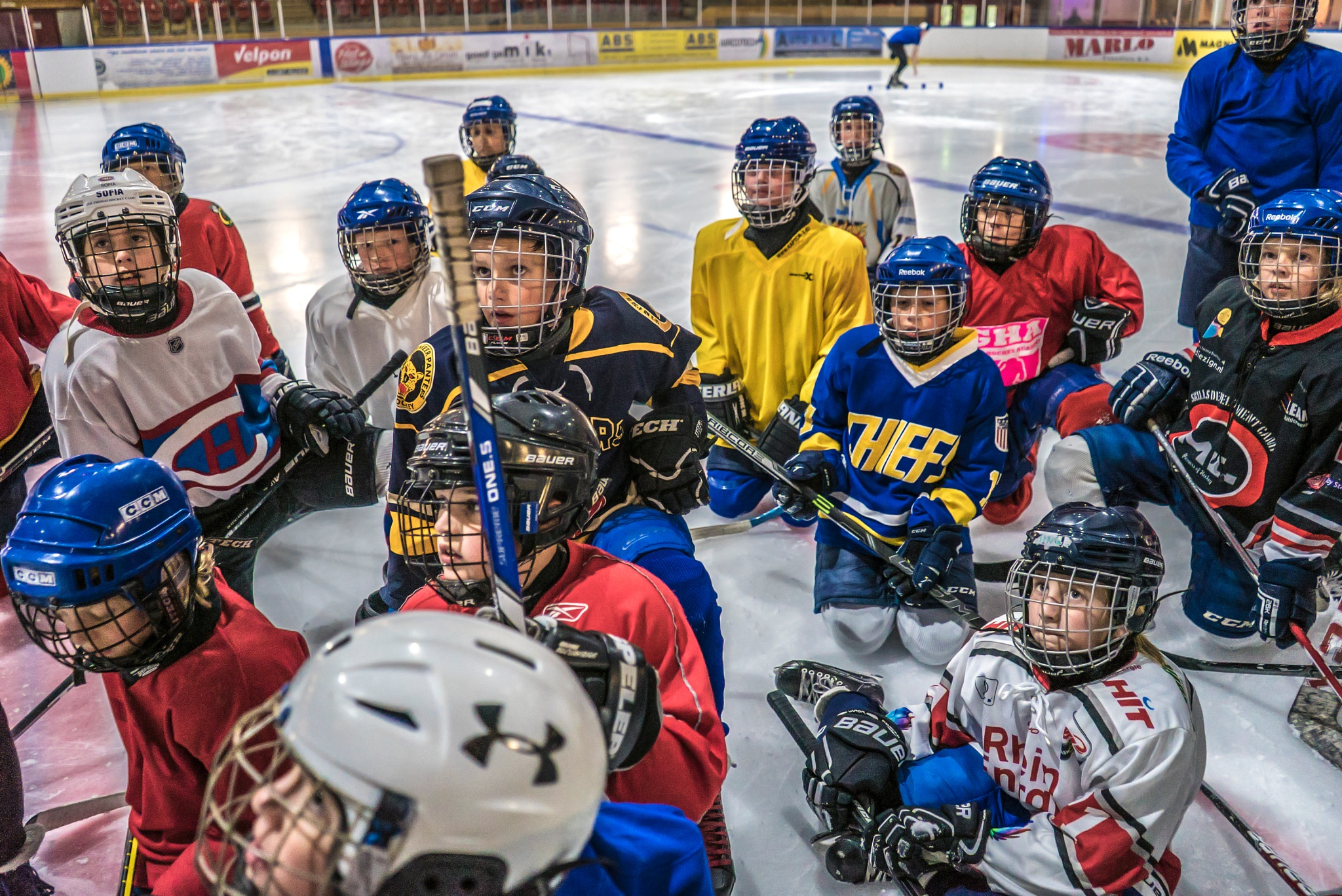Silverdome Panters, Zoetermeer, Holland - Young ice hockey players by fred.leeflang.7
