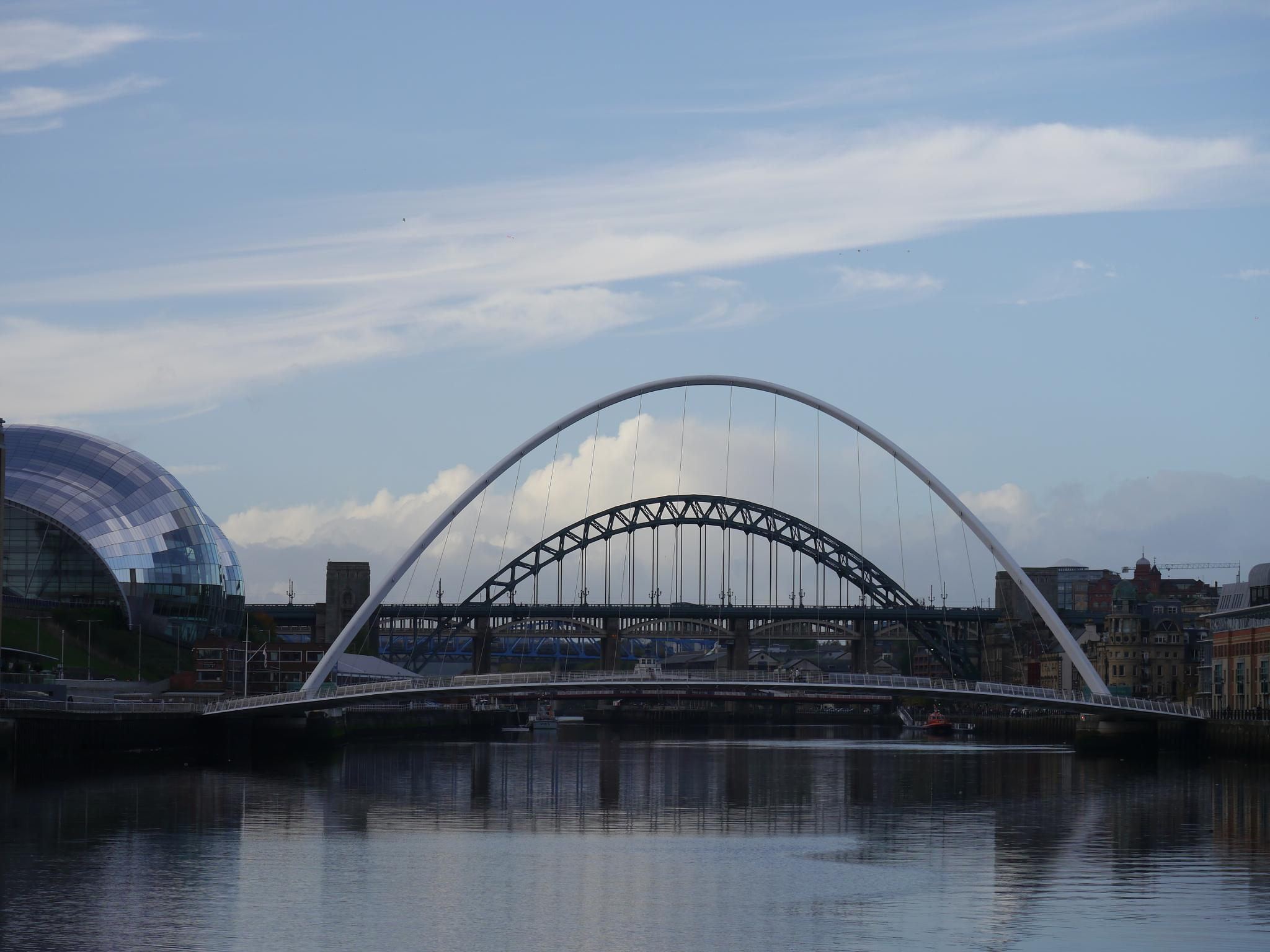 River Tyne Newcastle by Darren Turner